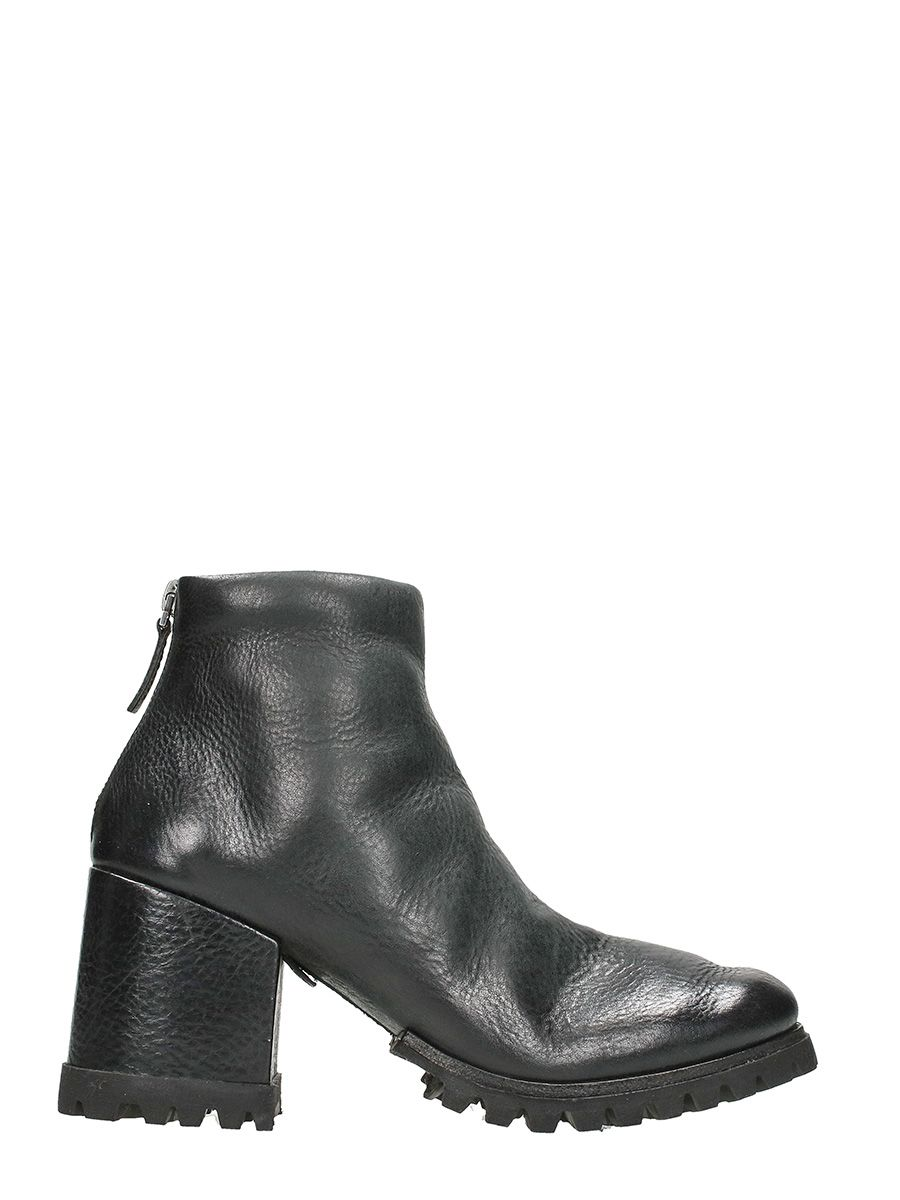 Marsell Dente Black Leather Boots