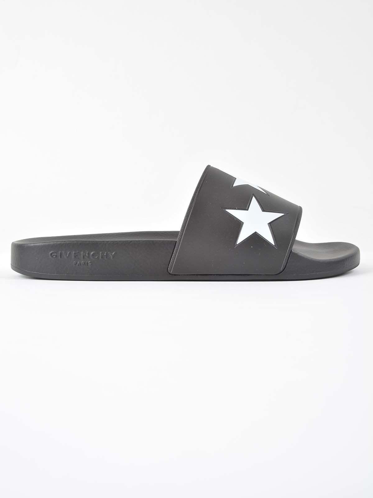Givenchy Stars Logo Sliders