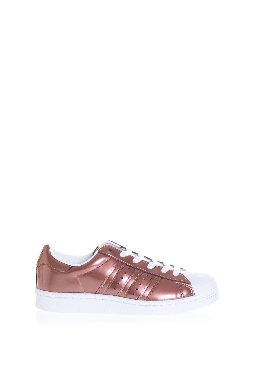 Adidas Originals Superstar Metallic Leather Sneakers