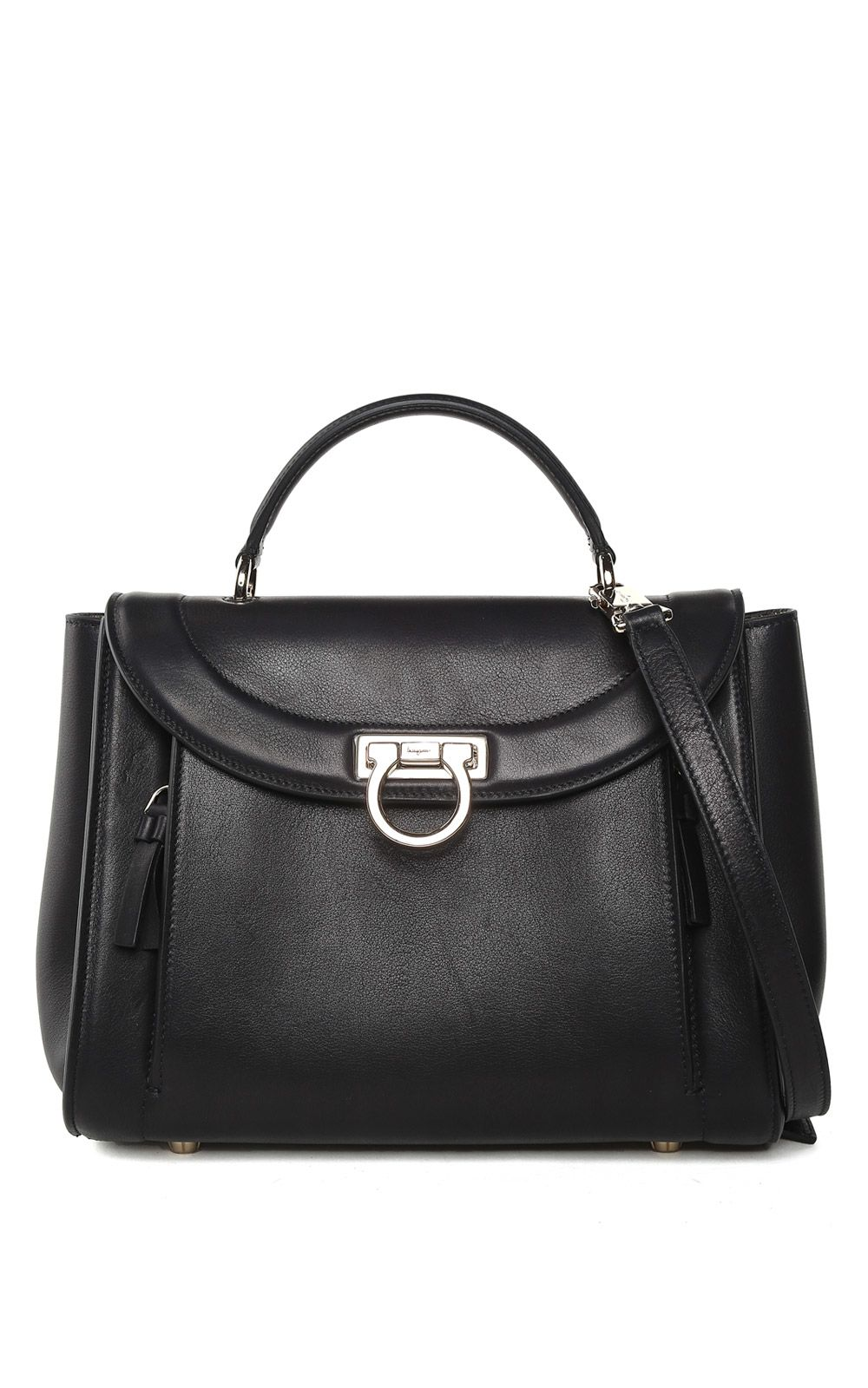Salvatore Ferragamo Sophia Rainbow Small Smooth-leather Shoulder Bag