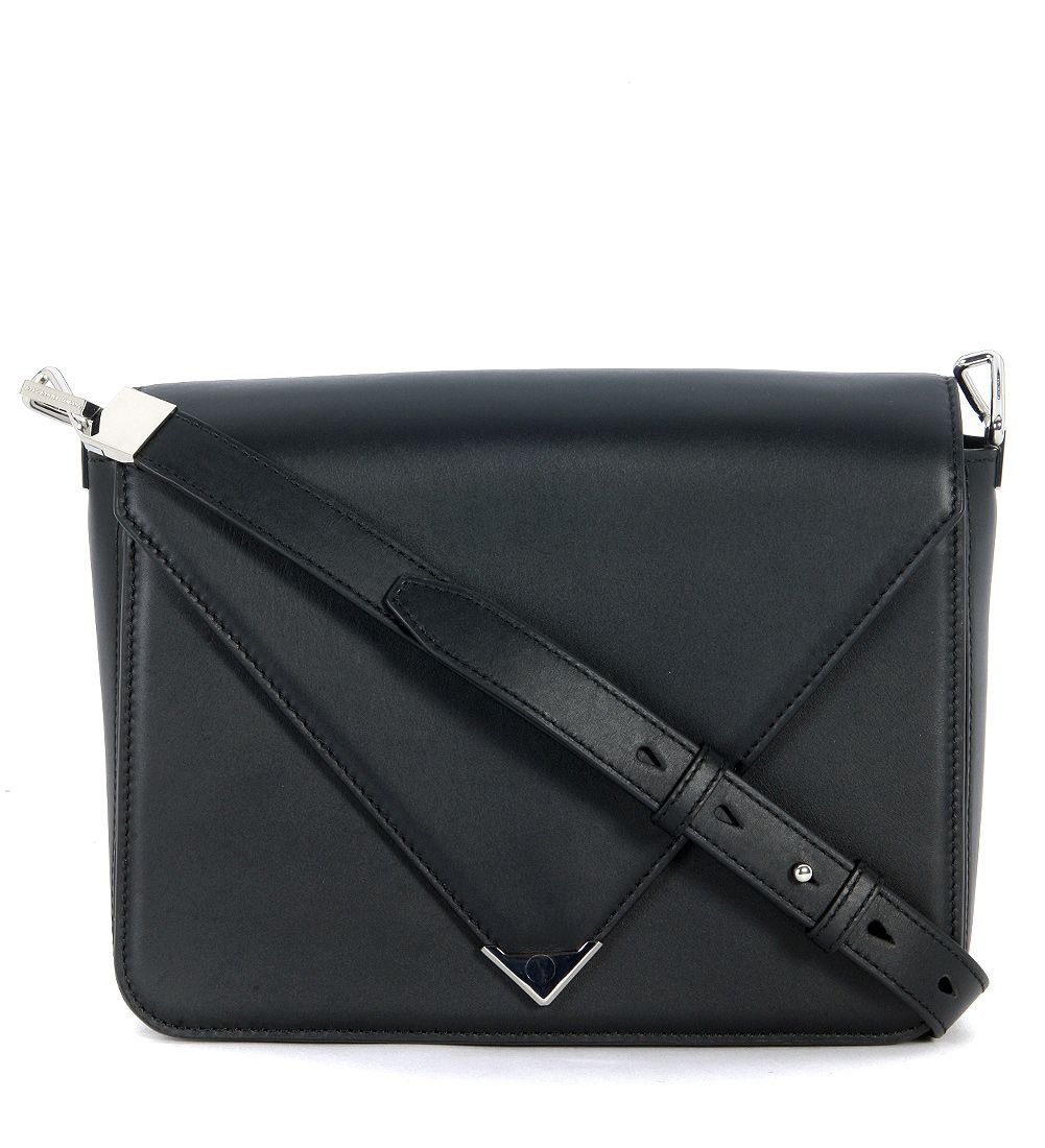 Alexander Wang Prisma Black Leather Shoulder Bag