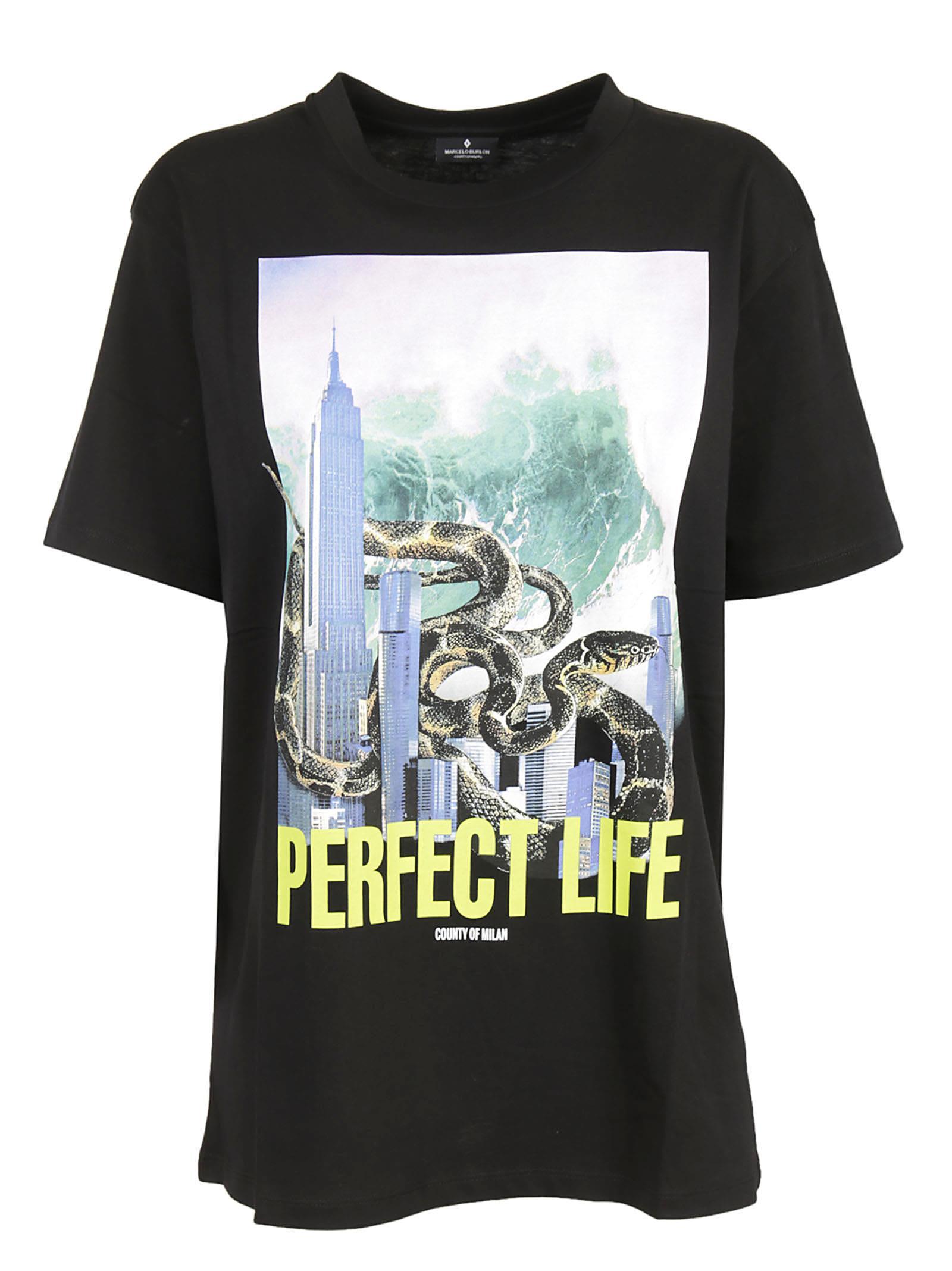 Marcelo Burlon Kamal Printed T-shirt