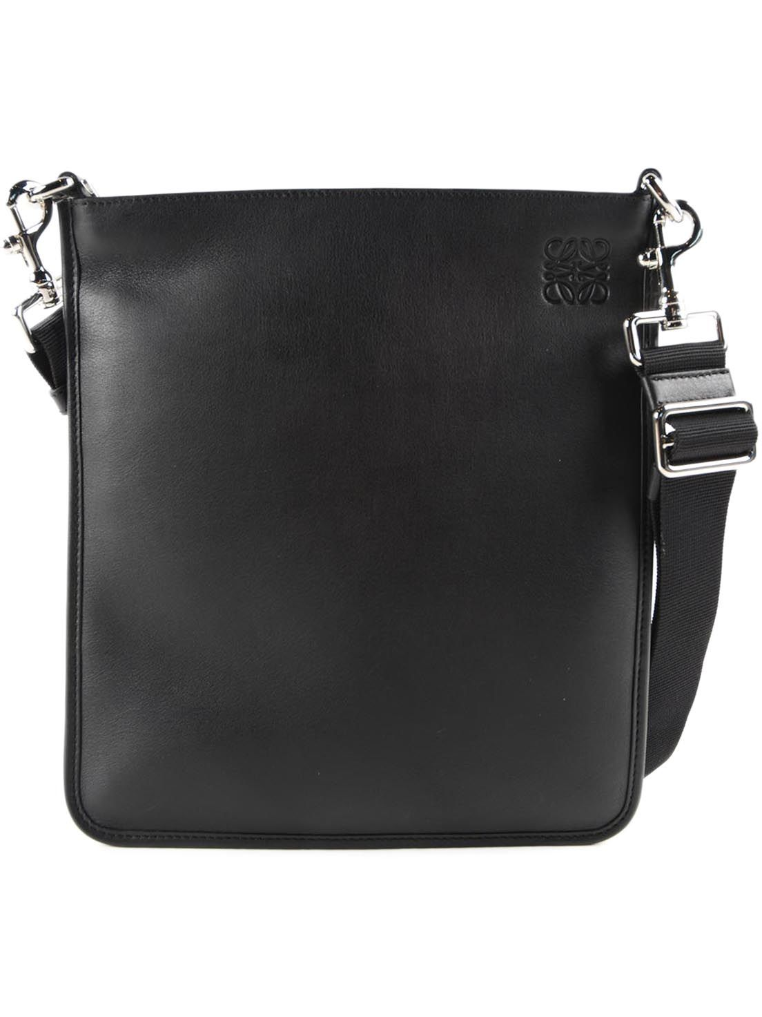 Loewe Embossed Detail Shoulder Bag