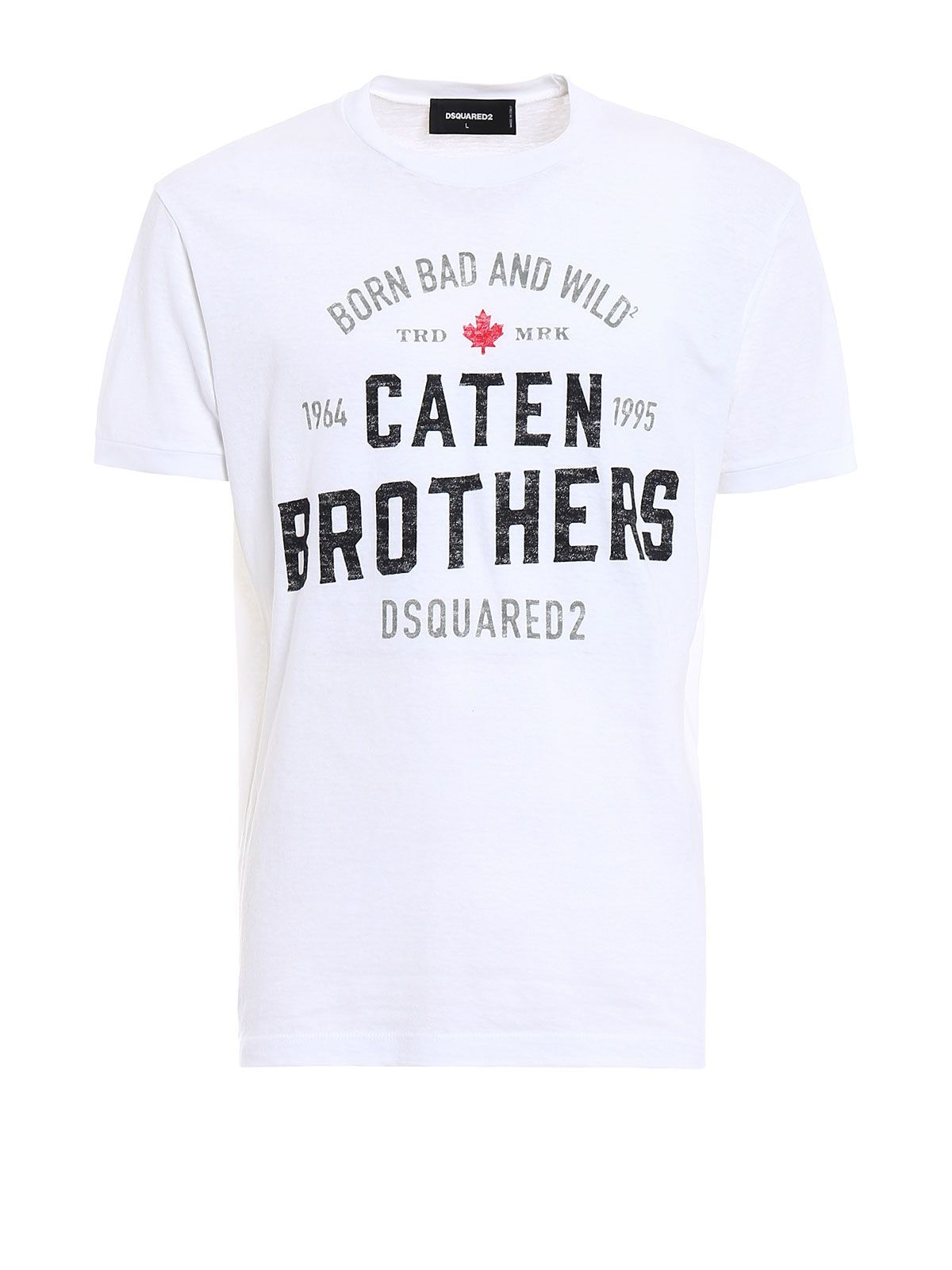 Dsquared2 caten Brothers T-shirt