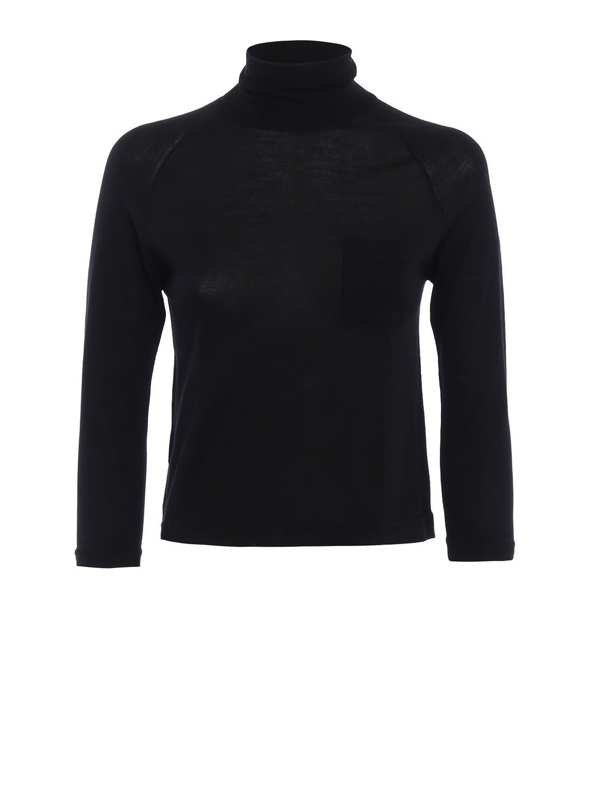 Prada Wool High Neck Sweater