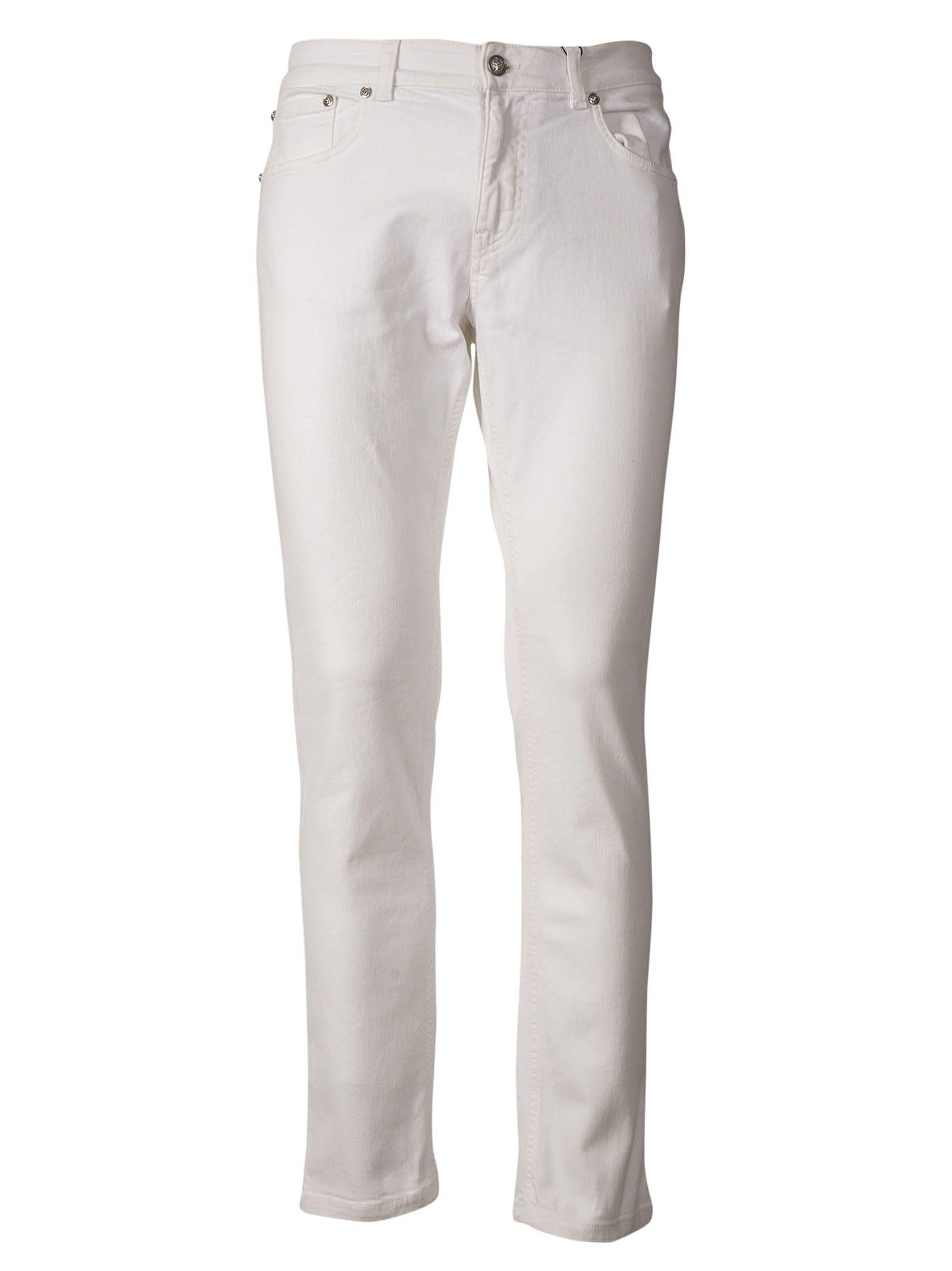 Versace Cotton Denim Jeans