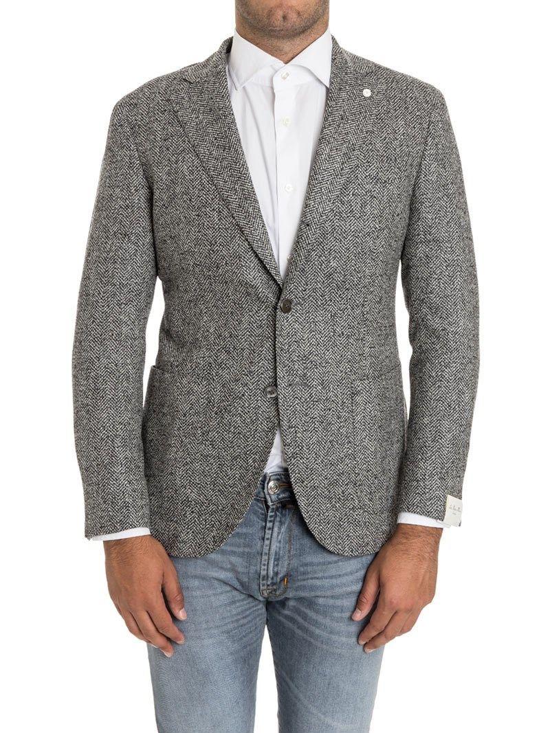 Luigi Bianchi Mantova Front Pockets Blazer