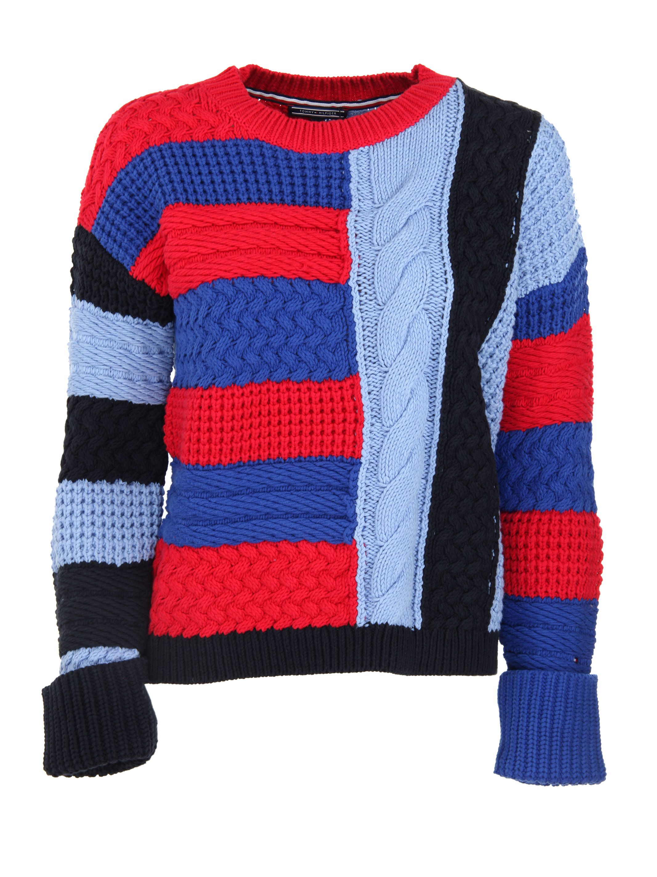 Tommy Hilfiger Contrast Knit Sweater