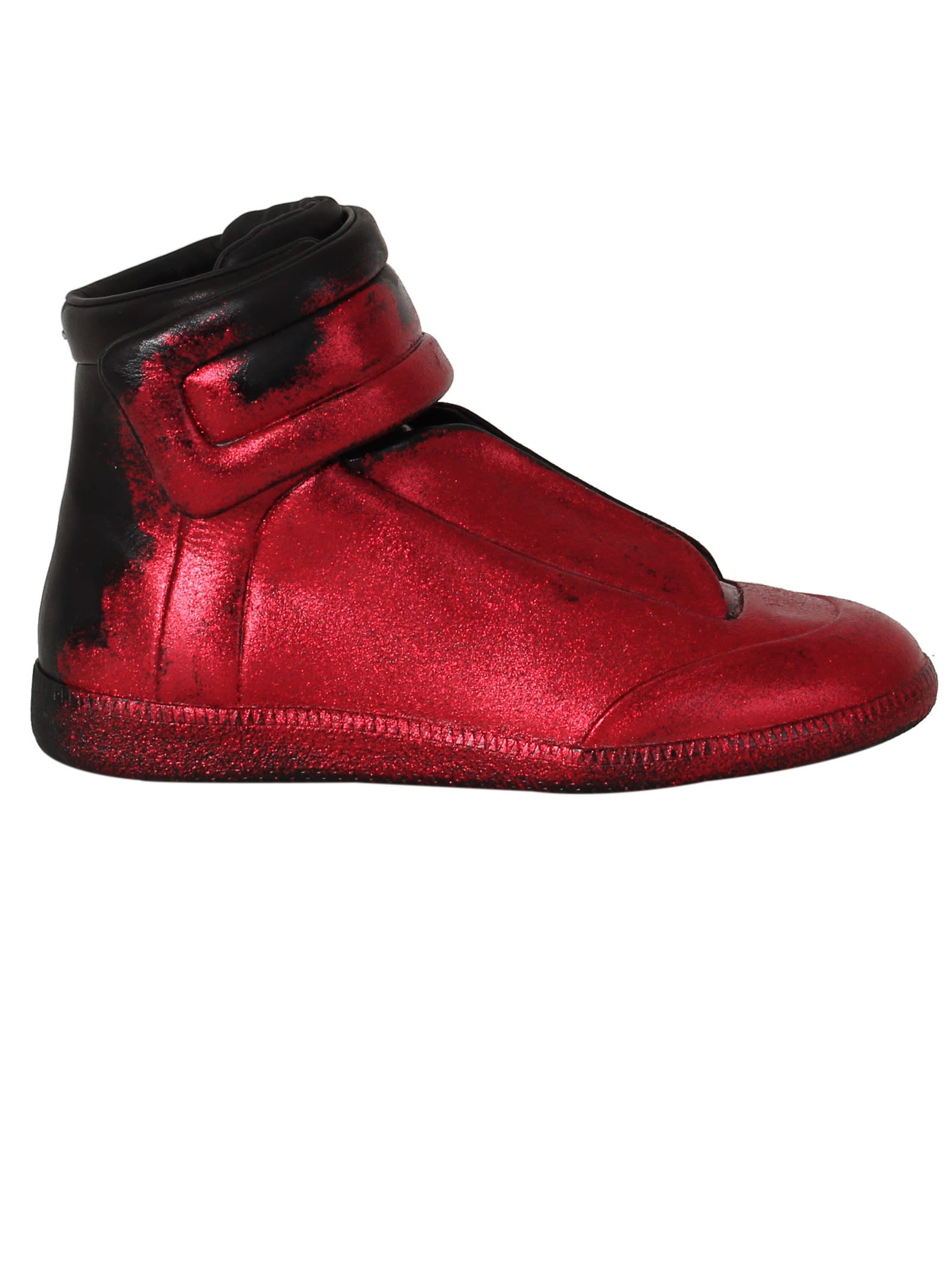 Maison margiela maison margiela red glitter future for Maison de margiela