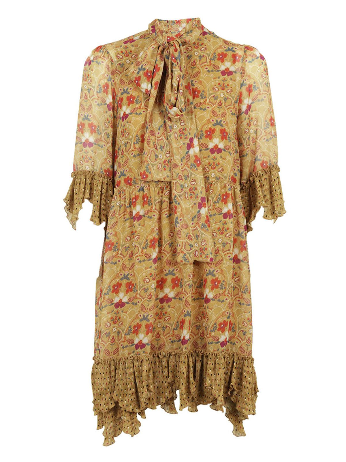 See By Chlo? Printed Floral Maxi Dress