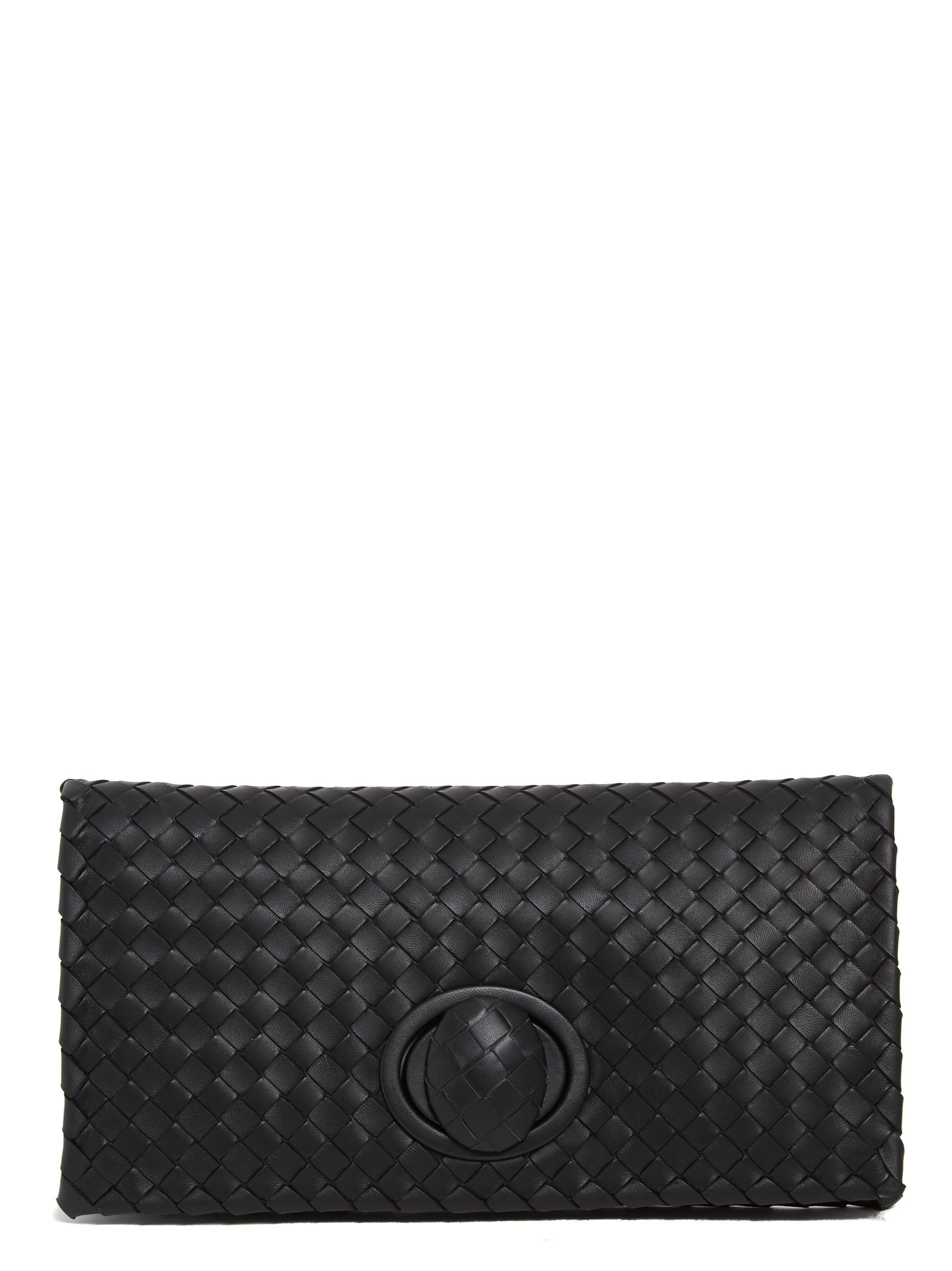 bottega veneta bottega veneta clutch black women 39 s clutches italist. Black Bedroom Furniture Sets. Home Design Ideas