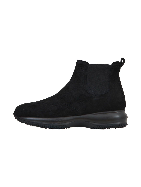 Hogan Black Suede Boots