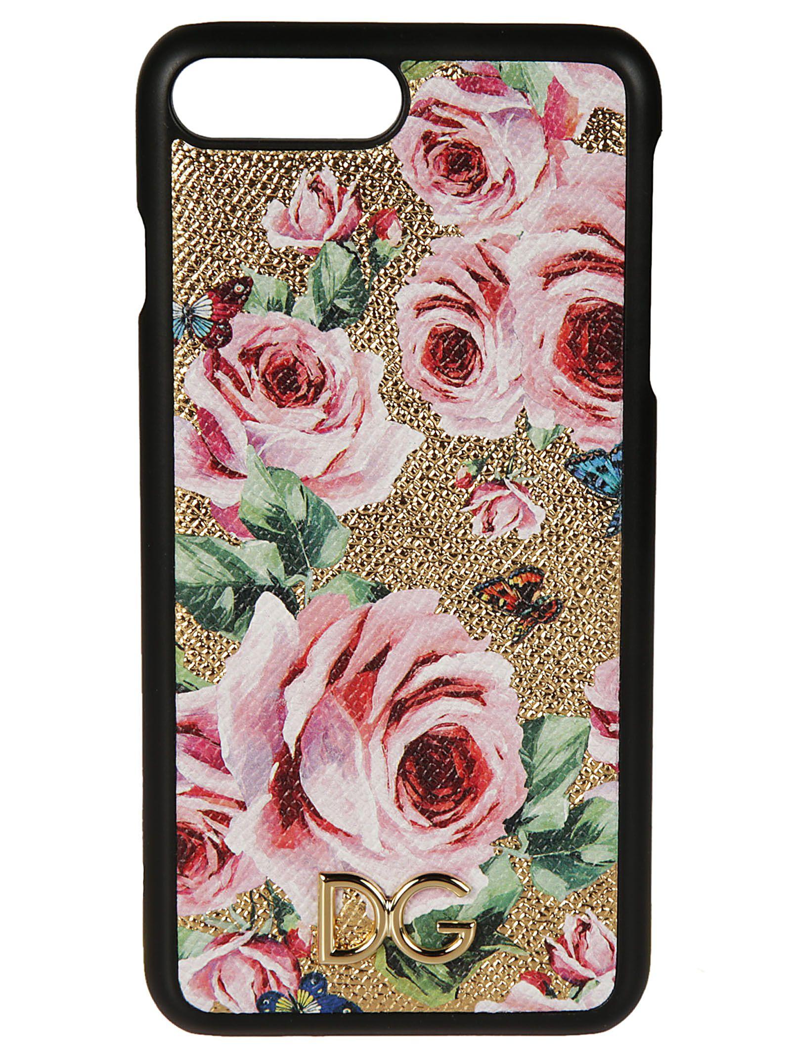 Dolce & Gabbana Rose Print Iphone 6 Case