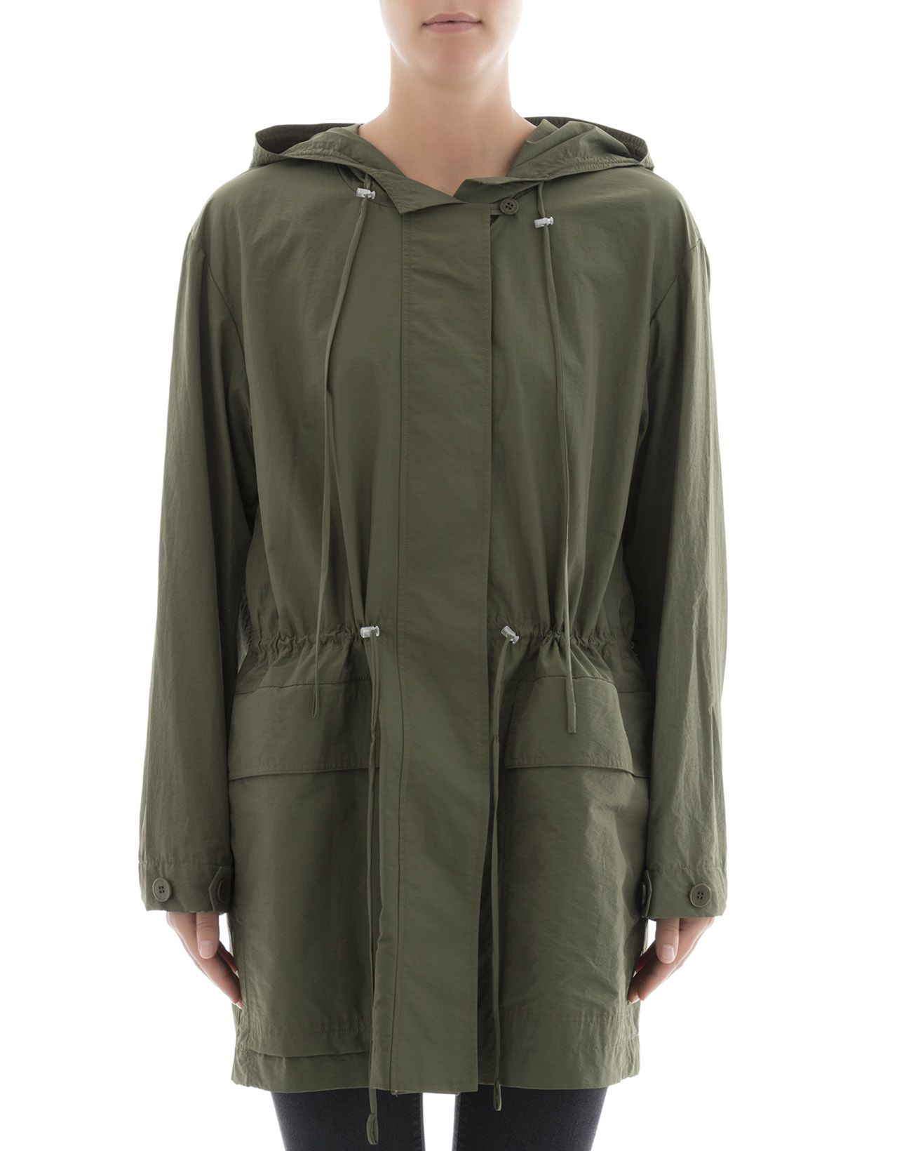 Green Cotton Parka