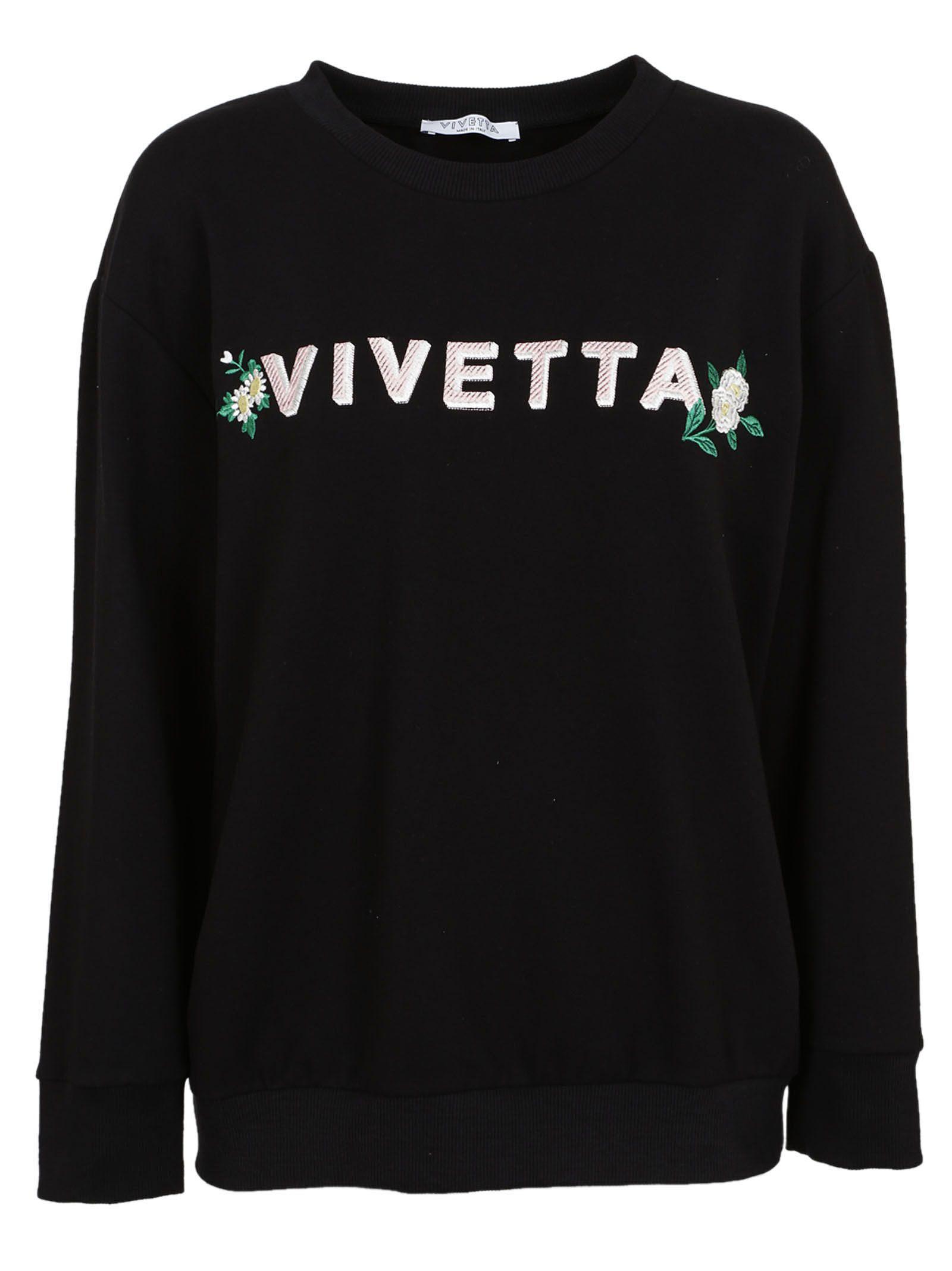 Vivetta Embroidery Sweatshirt