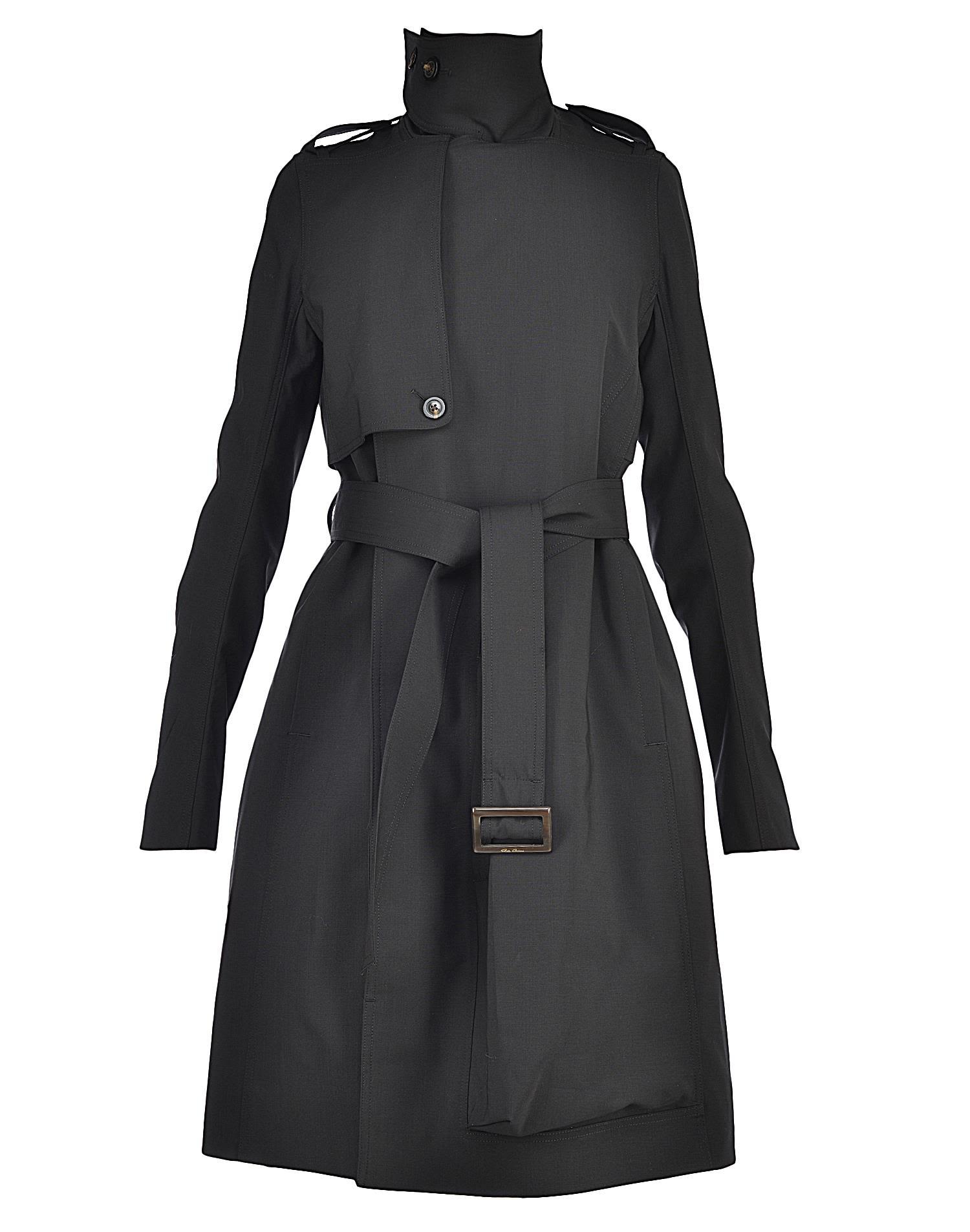Rick Owens Wool Raincoat