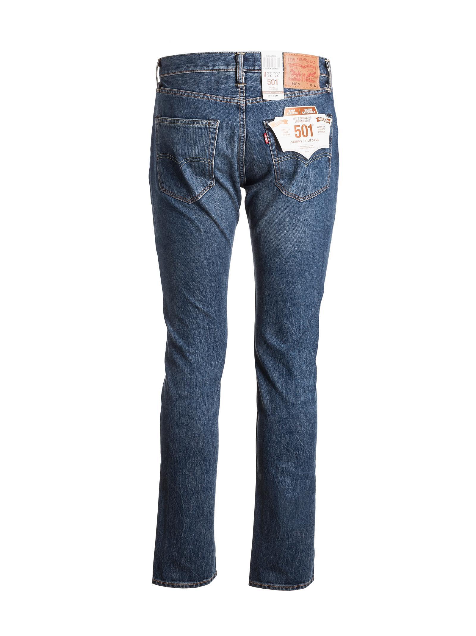 levi 39 s levi 39 s 501 skinny wrap stretch jeans men 39 s jeans. Black Bedroom Furniture Sets. Home Design Ideas