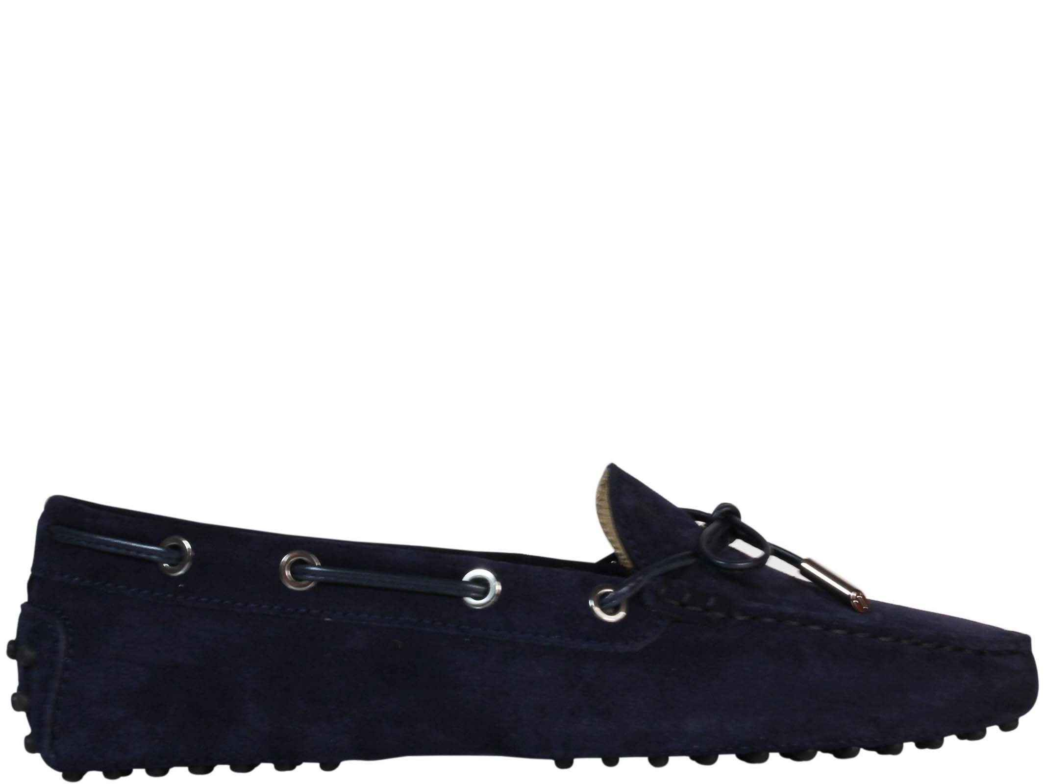 Tods Dark Blue Gommini Driving Shoes