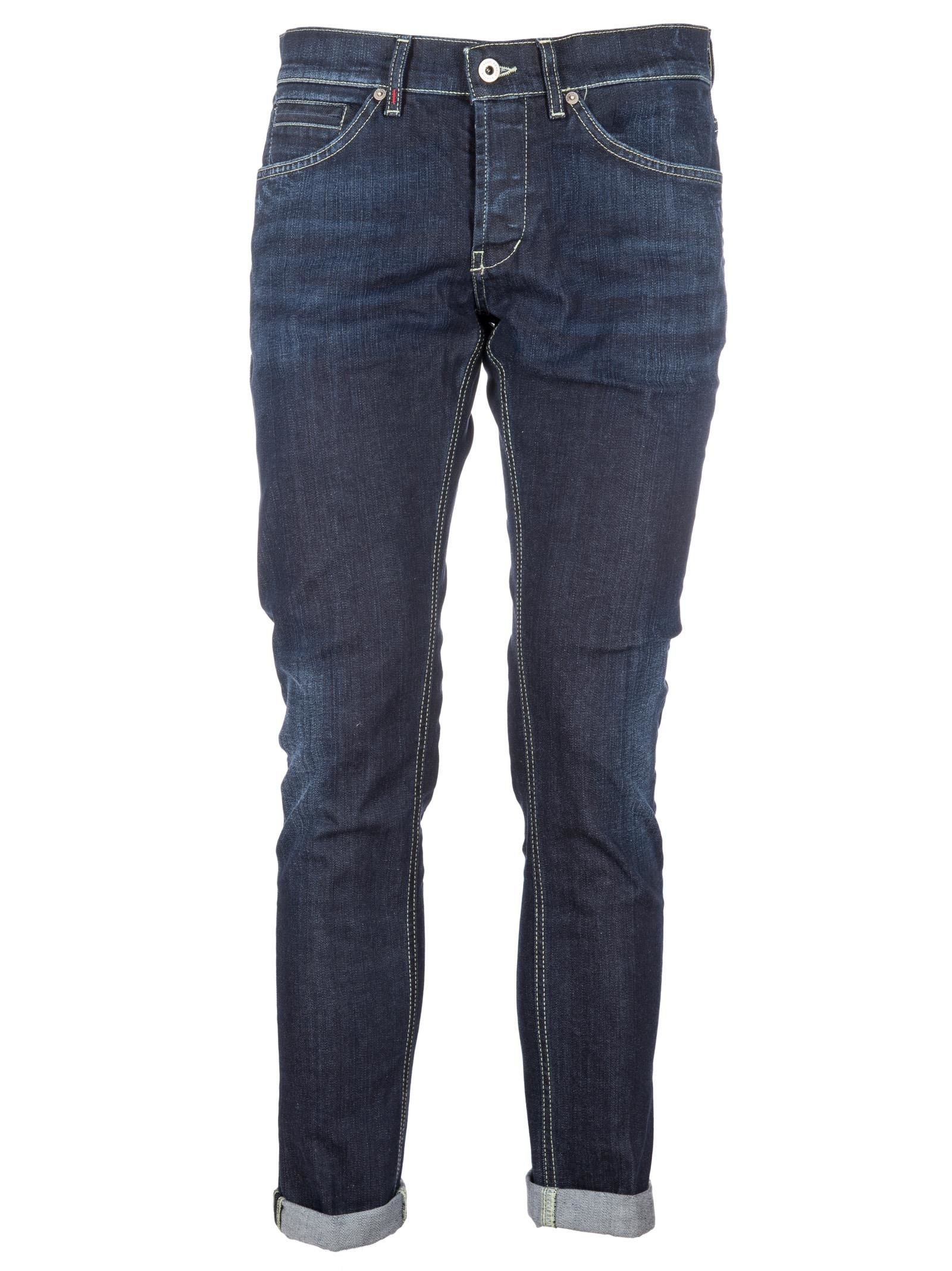 Dondup Ripped Slim-fit Jeans