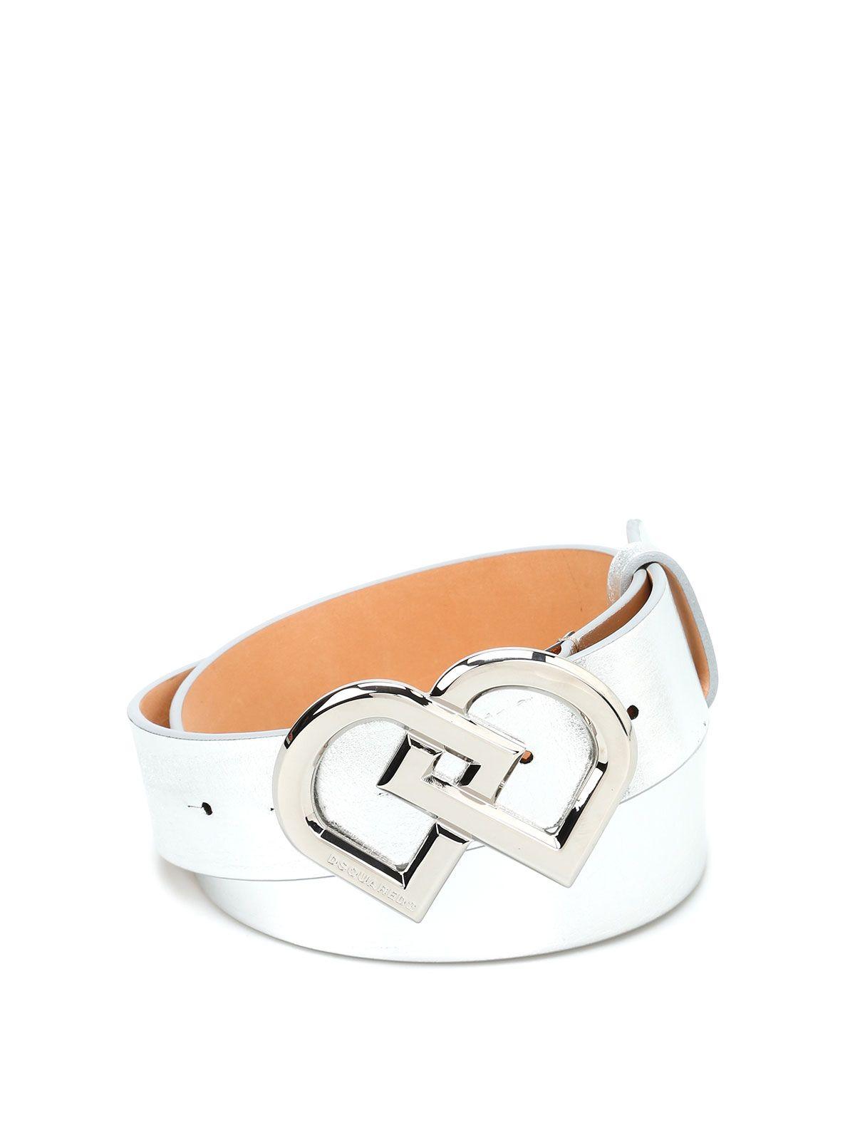 Dsquared2 Dd Leather Belt