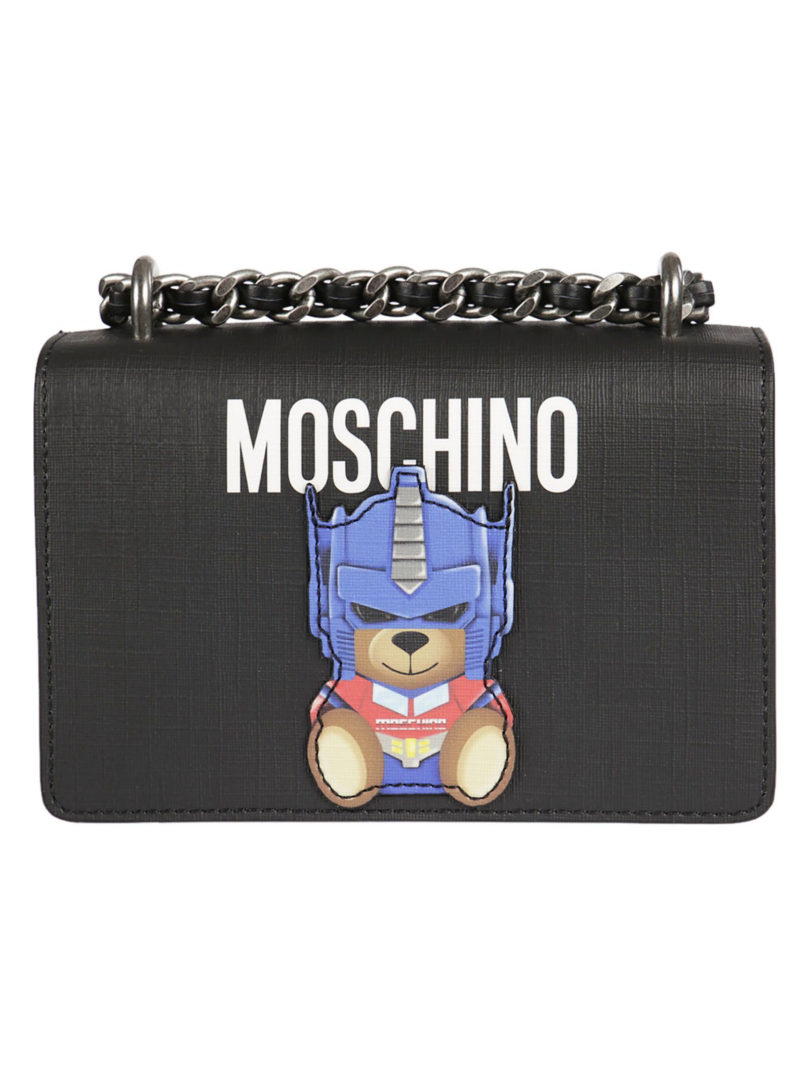 Moschino Toy Bear Paper Cut Out Shoulder Bag