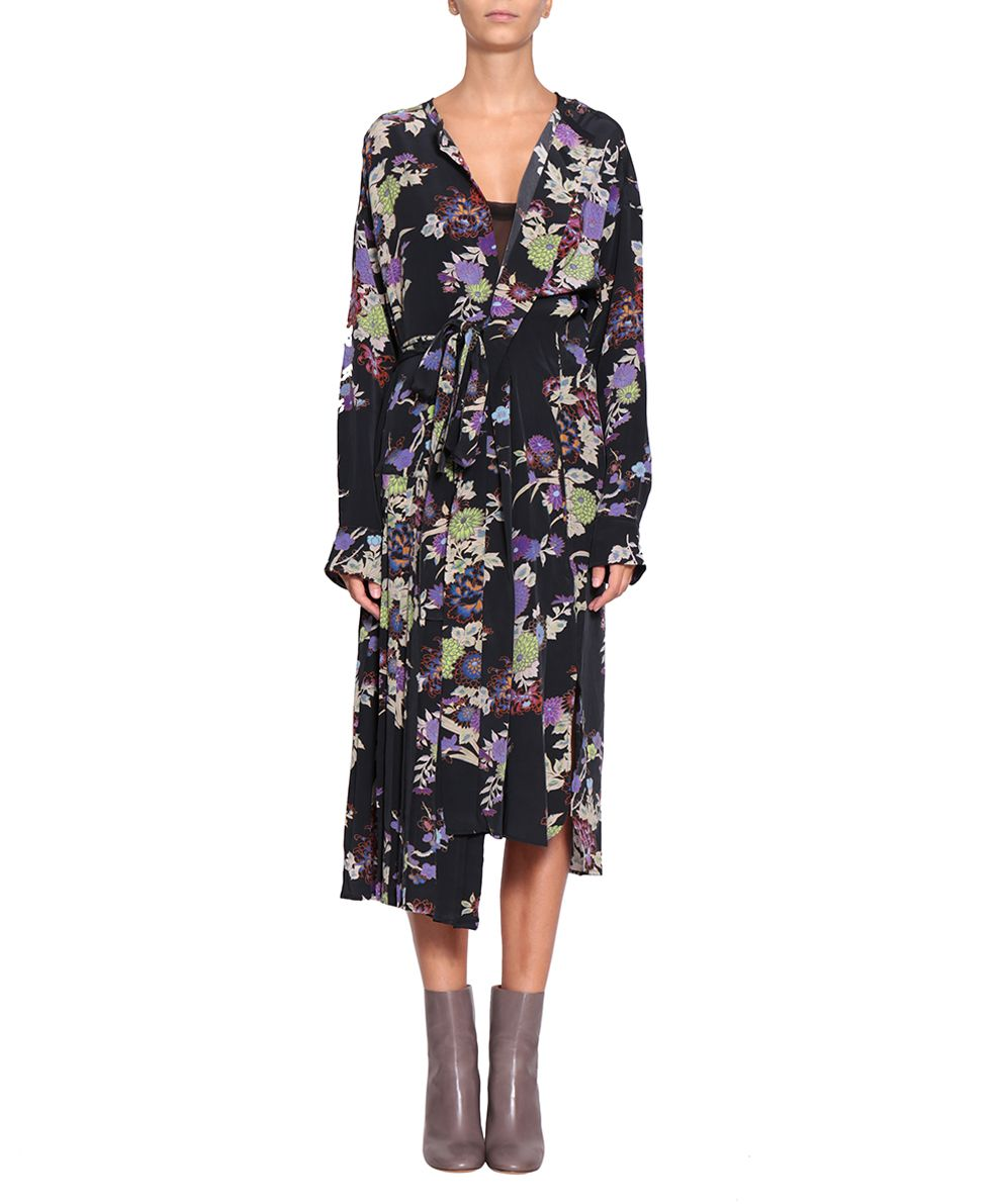 Isabel Marant Iam Crepe De Chine Dress