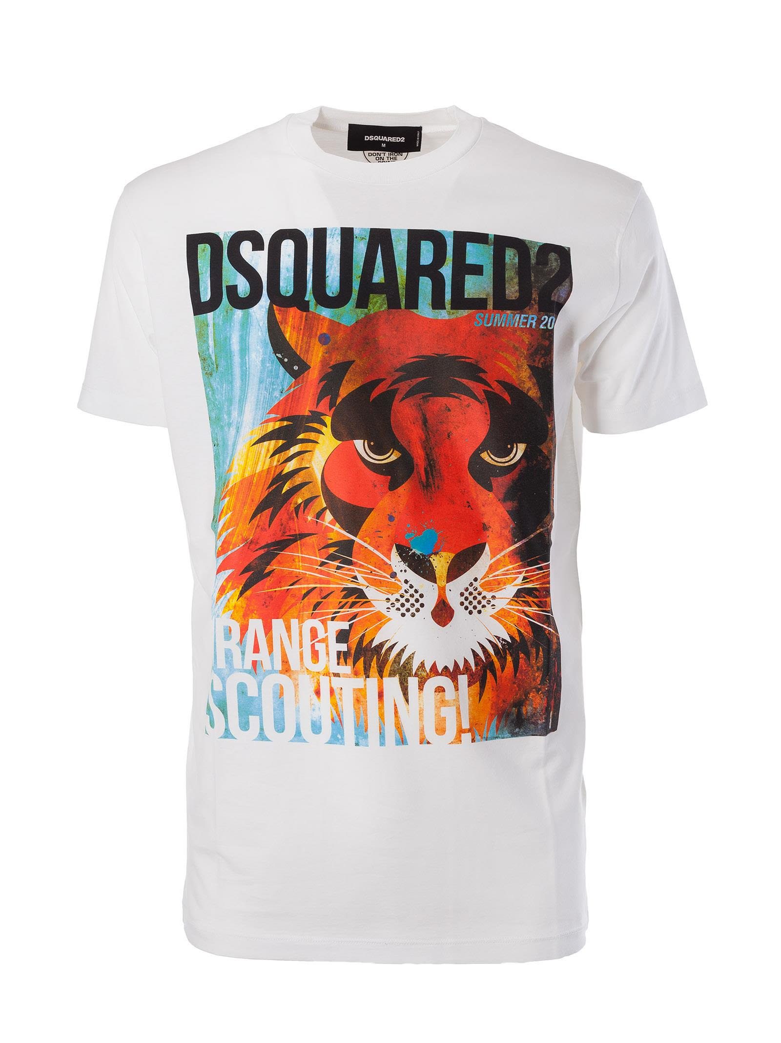 Dsquared2 Lion Print T-shirt