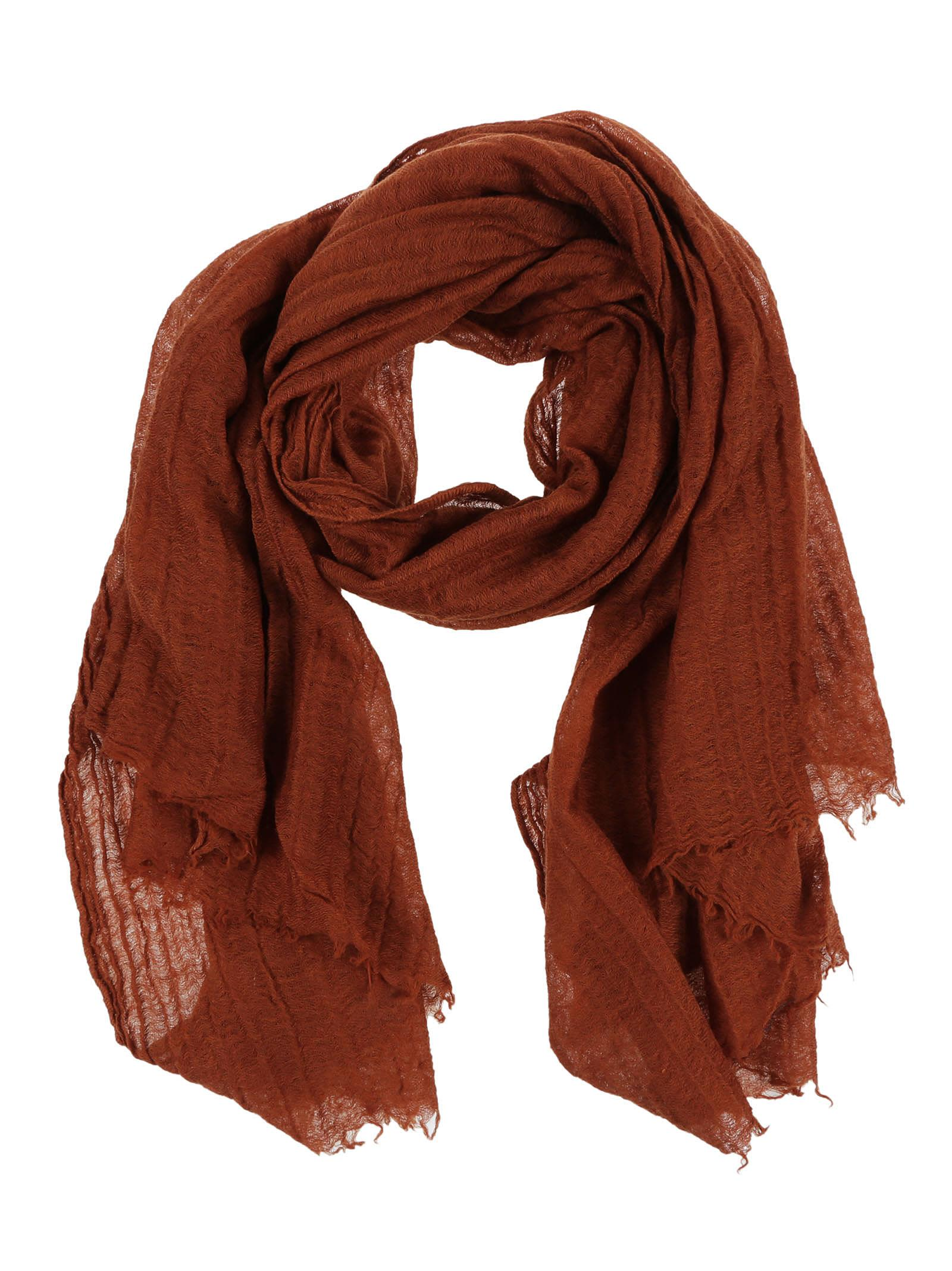 Destin Srl Fringed Scarf
