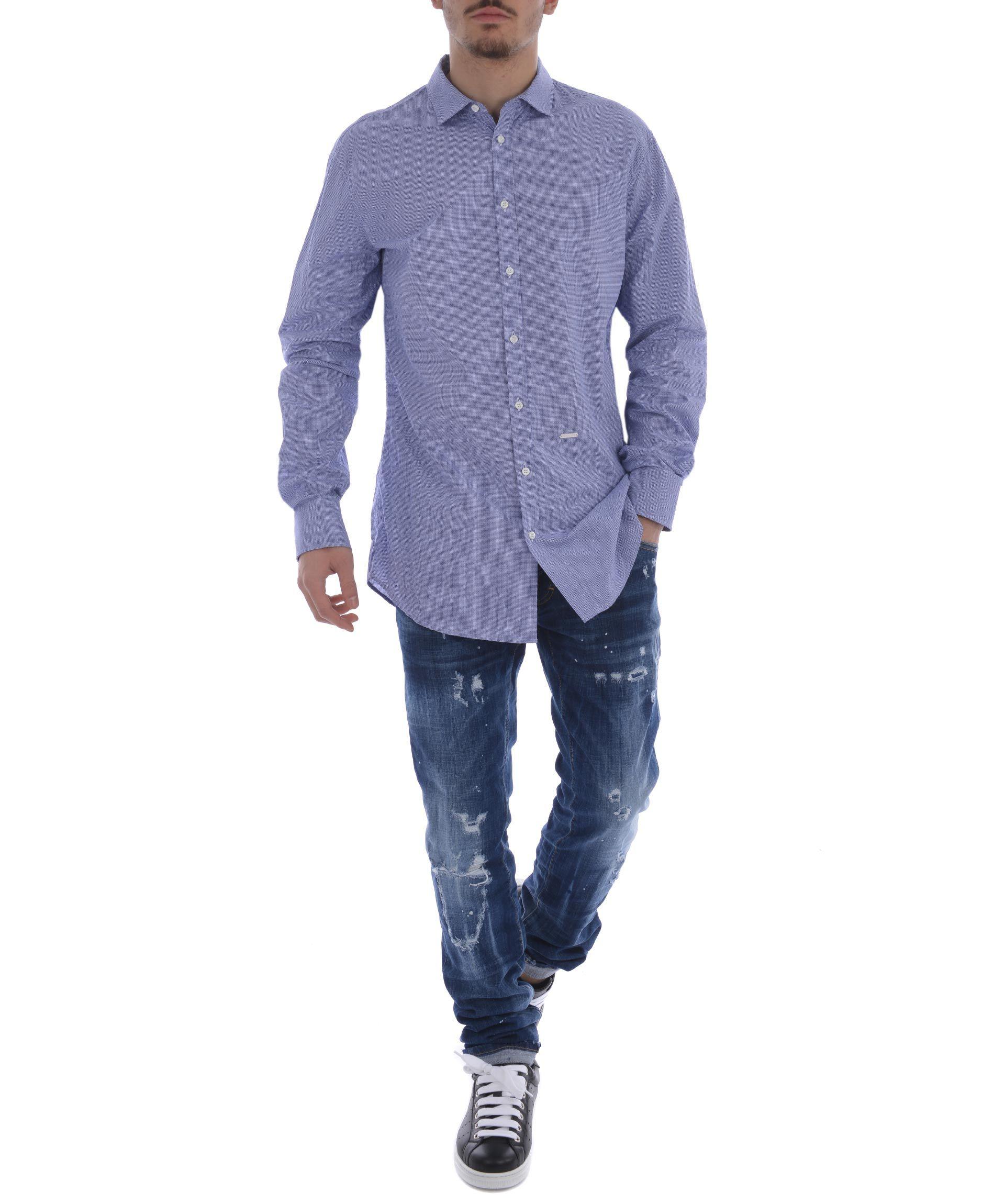 Dsquared2 Jacquard Shirt