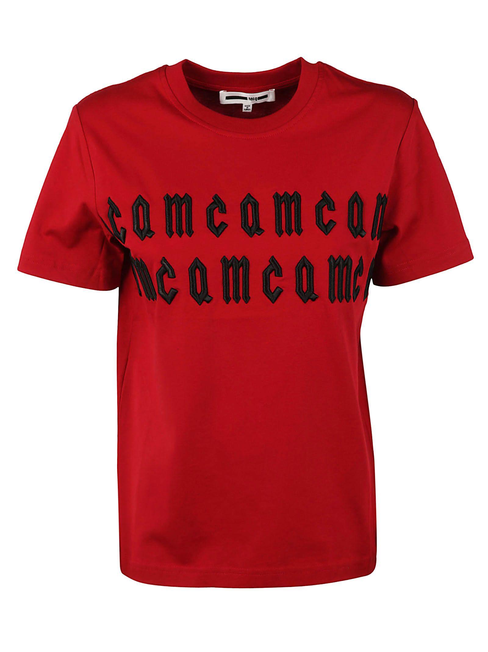 Mcq Alexander Mcqueen Embroidered T-shirt