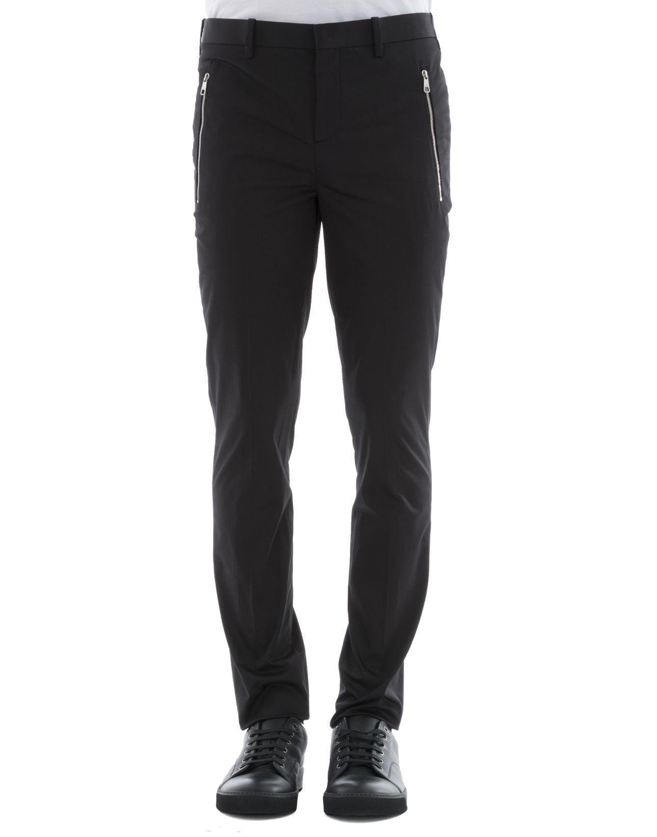 Black Cotton Pants