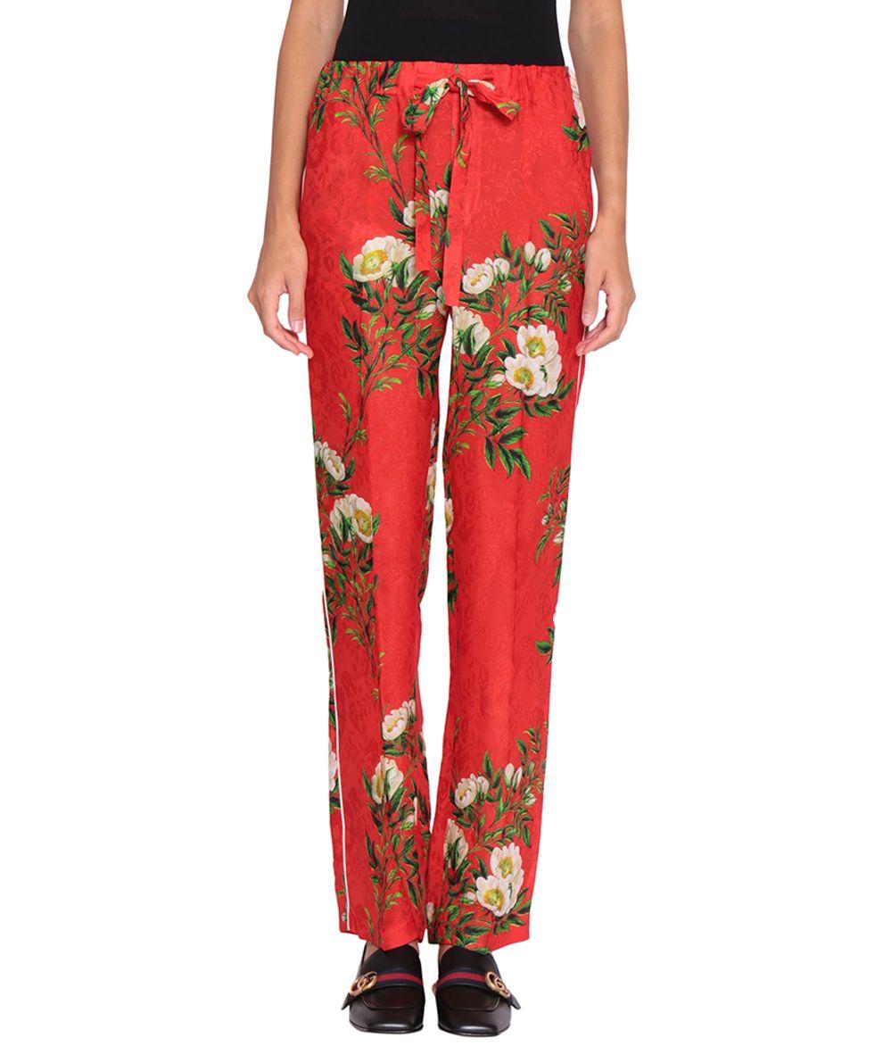 Gucci Crepe De Chine Trousers