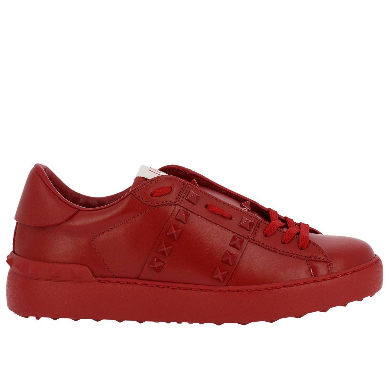 valentino garavani sneakers shoes women valentino garavani red women 39 s sneakers italist. Black Bedroom Furniture Sets. Home Design Ideas