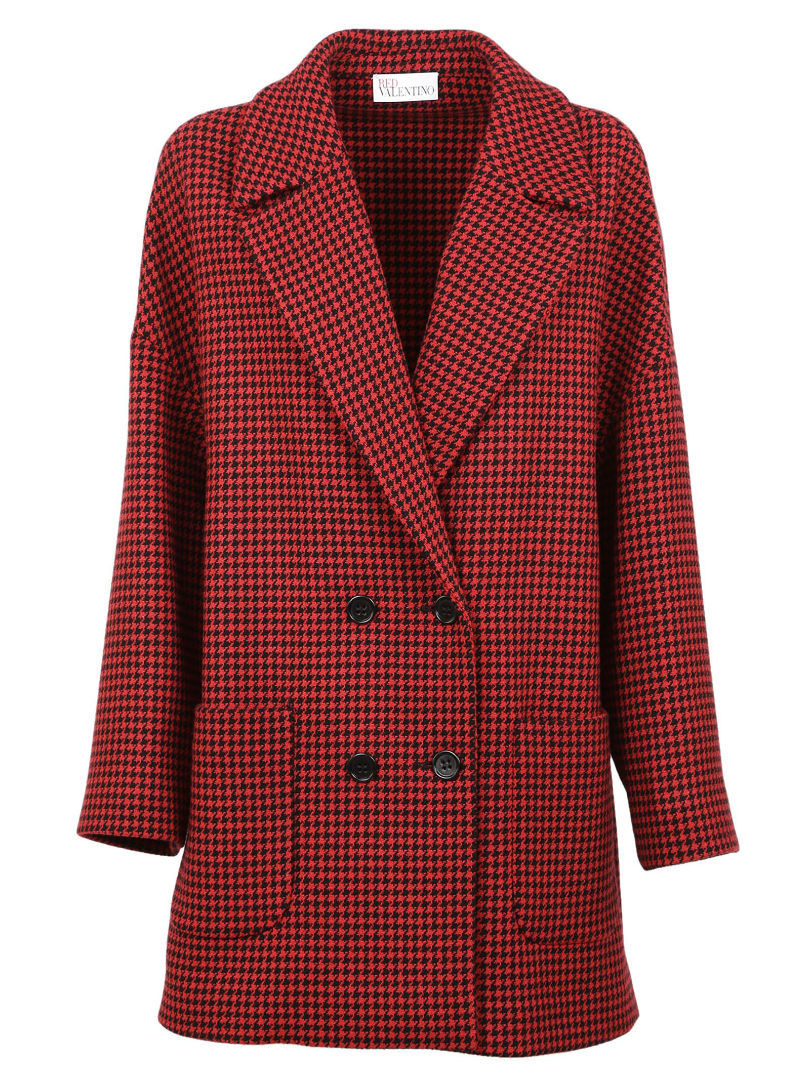 Red Valentino Woven Coat