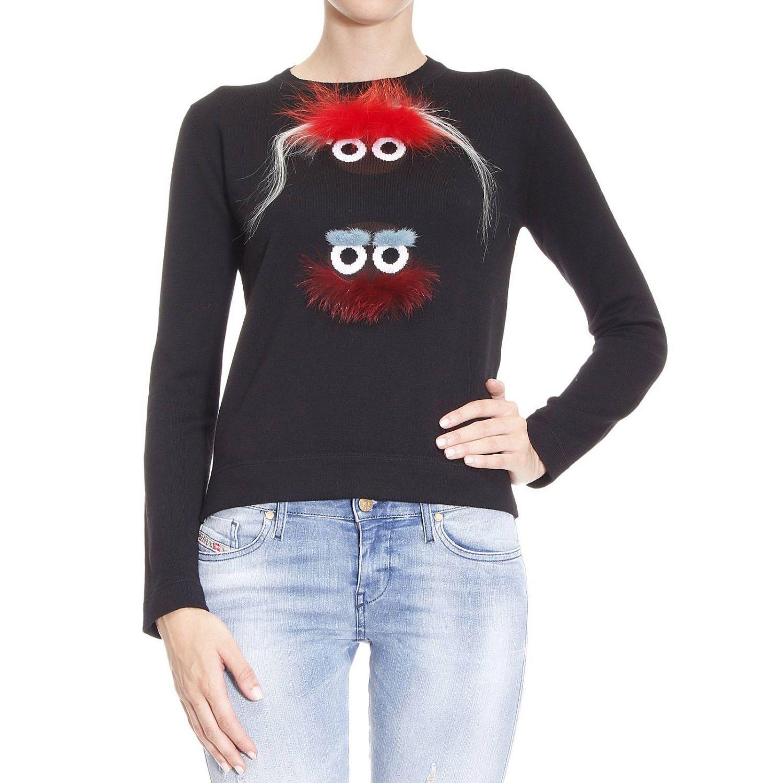 Sweater Sweater Woman Bugs Fendi