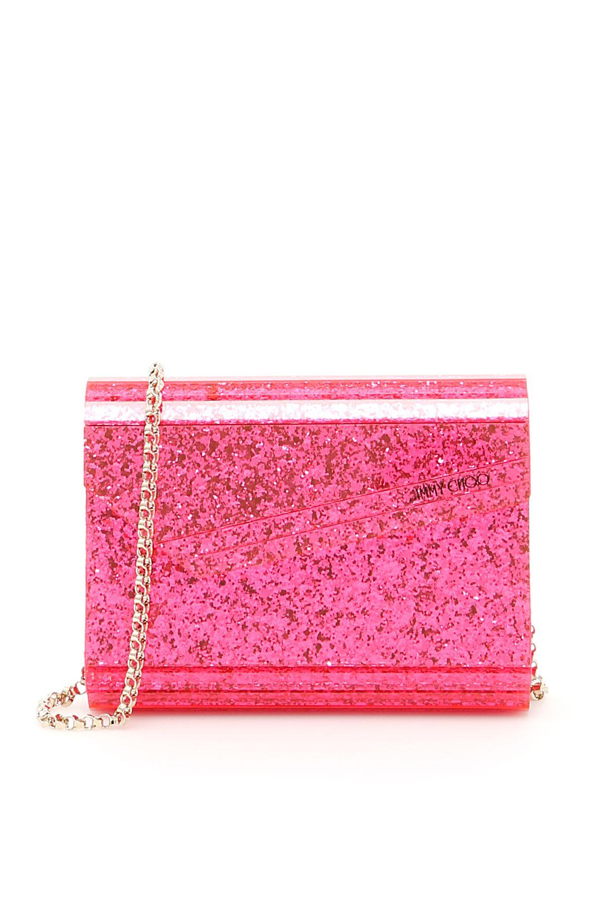 Neon Glitter Candy Clutch