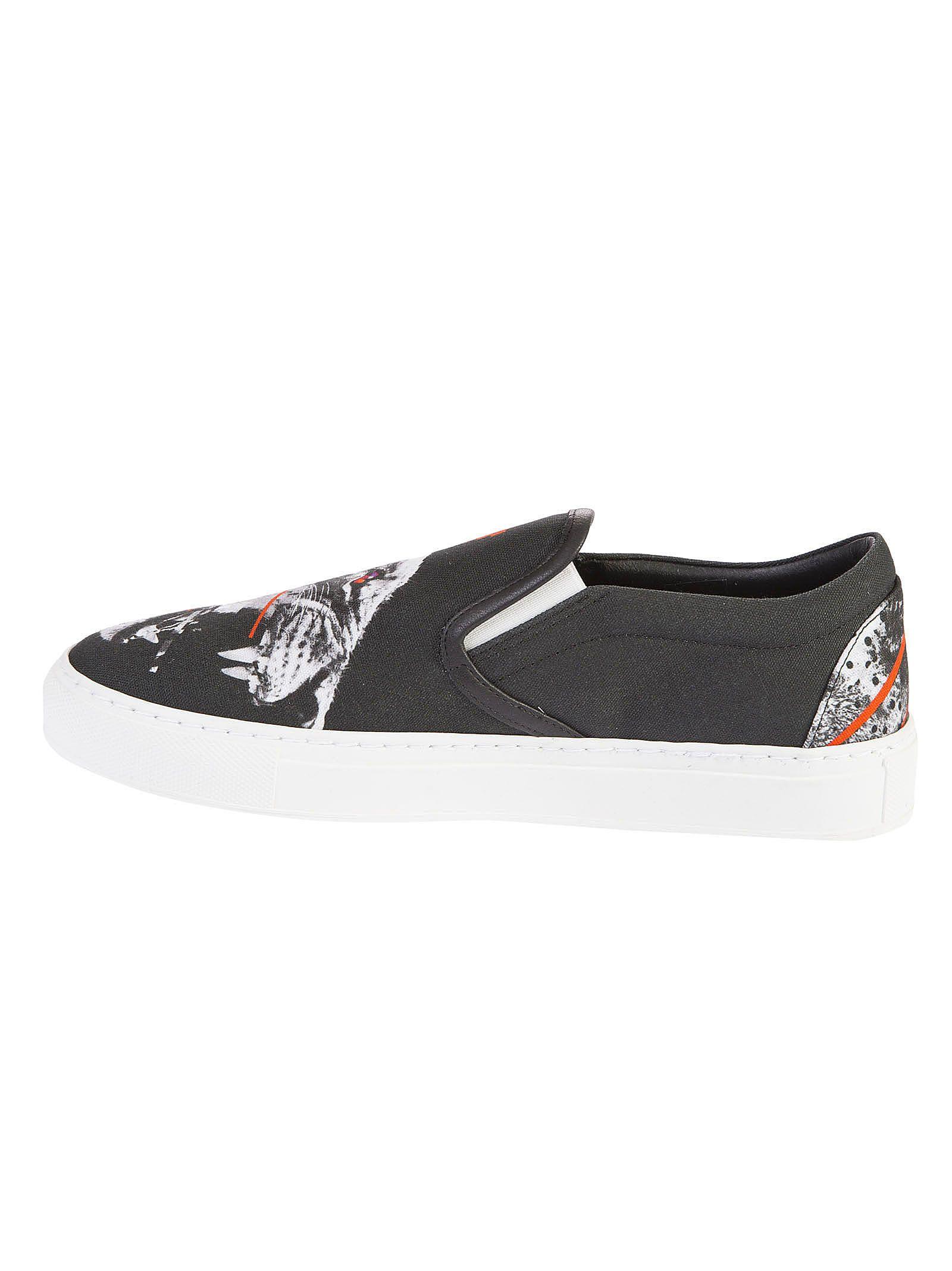 Marcelo Burlon Printed Slip-on Sneakers