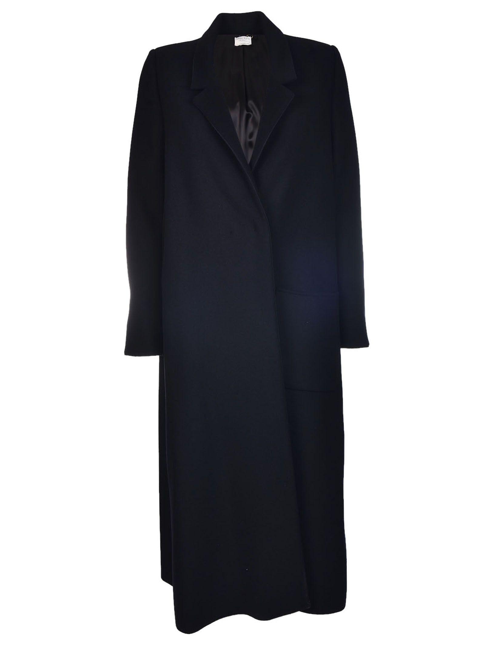 Forte_Forte - Forte Forte Long Oversized Coat - Black, Women's ...