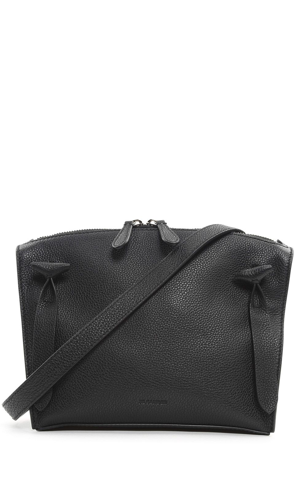 Jil Sander Hill Pebbled-leather Cross-body Bag