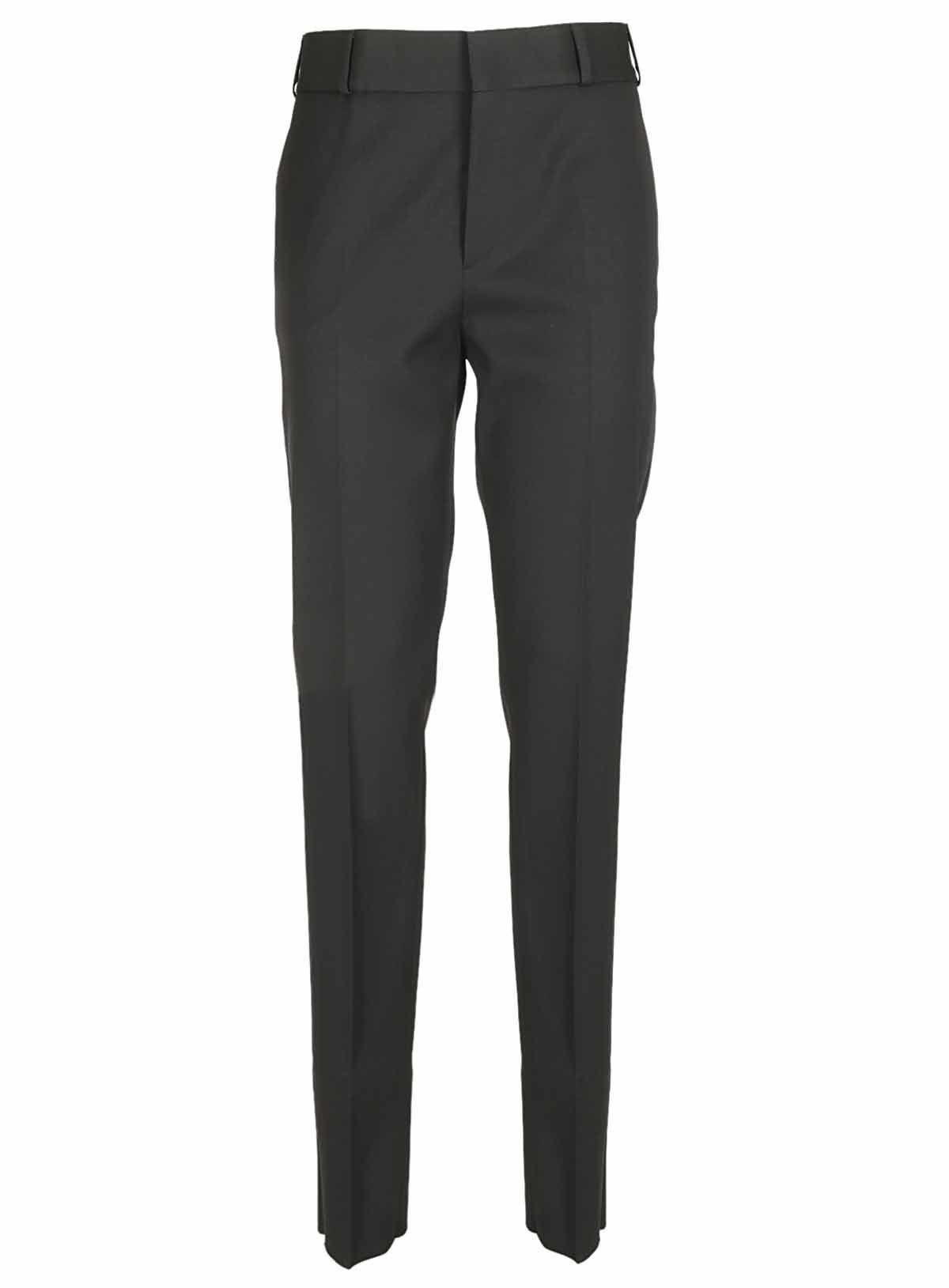 Saint Laurent Satin Stripe Suite Trousers