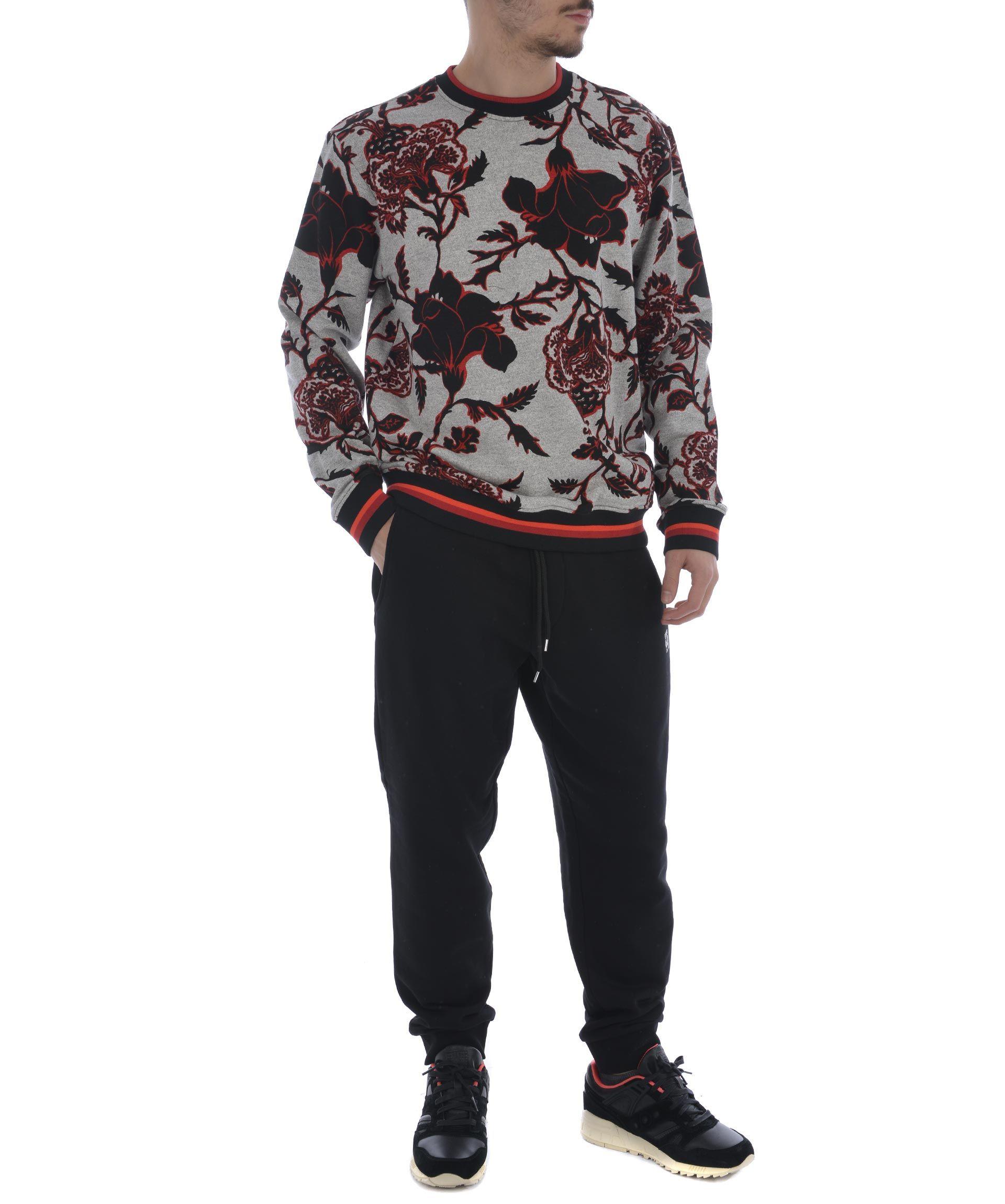 Mcq Alexander Mcqueen Floral Print Sweatshirt