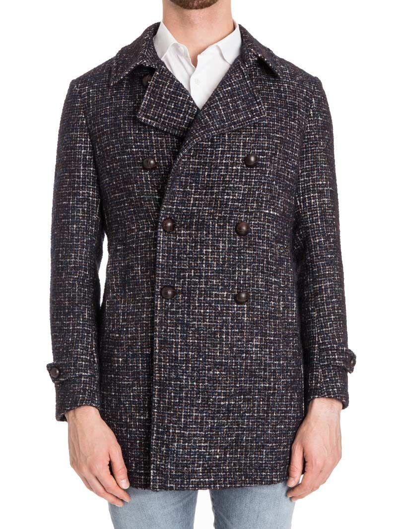 Tagliatore Charlie Wool Blend Coat