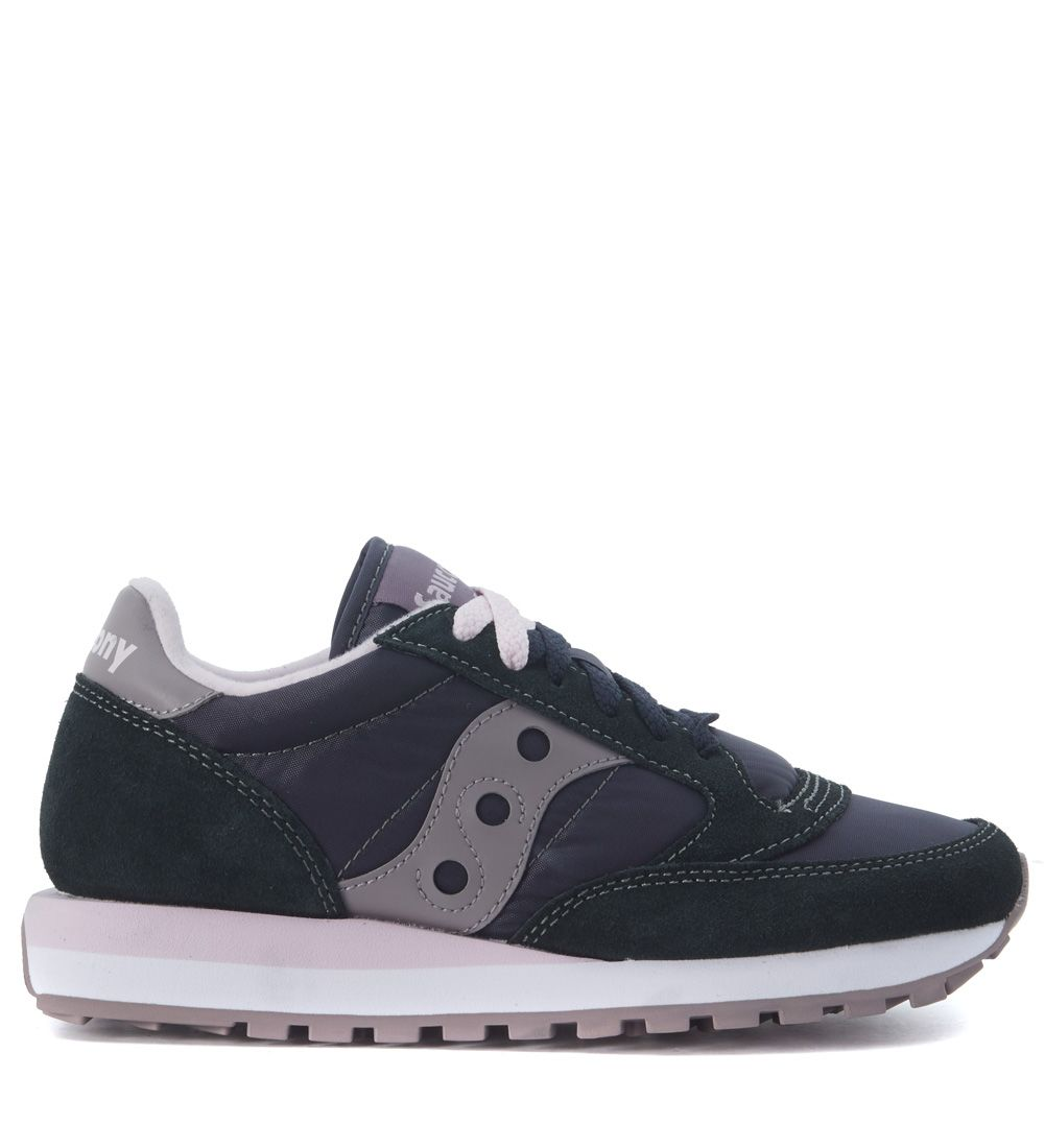 Sneaker Saucony Jazz In Grey Anthracite Suede And Nylon