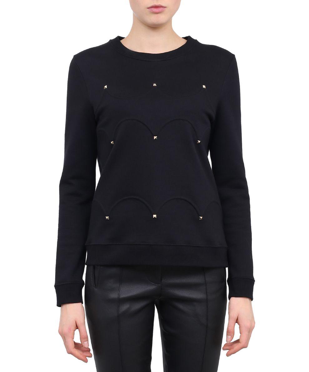 Valentino Studded Cotton Sweatshirt