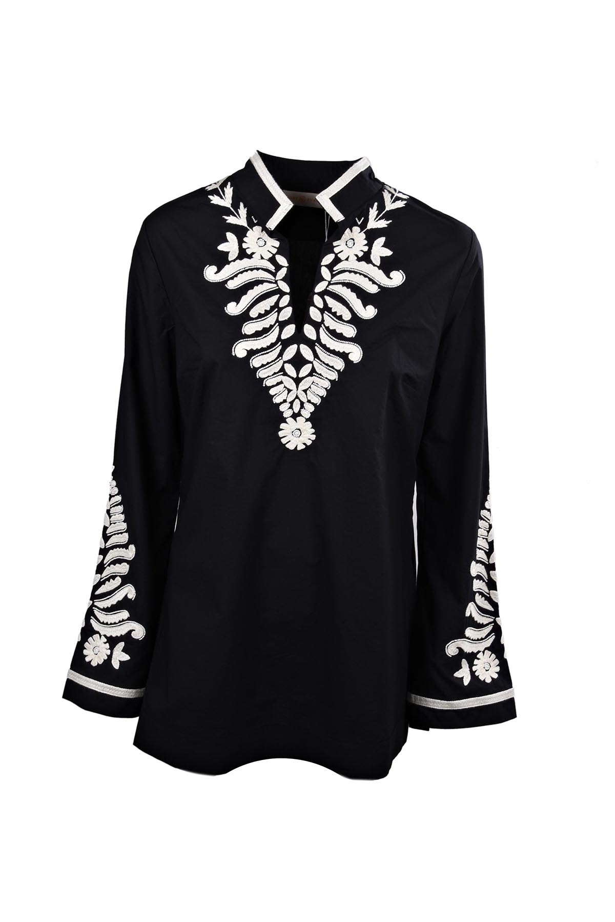 Tory Burch Embroidered Tory Tunic