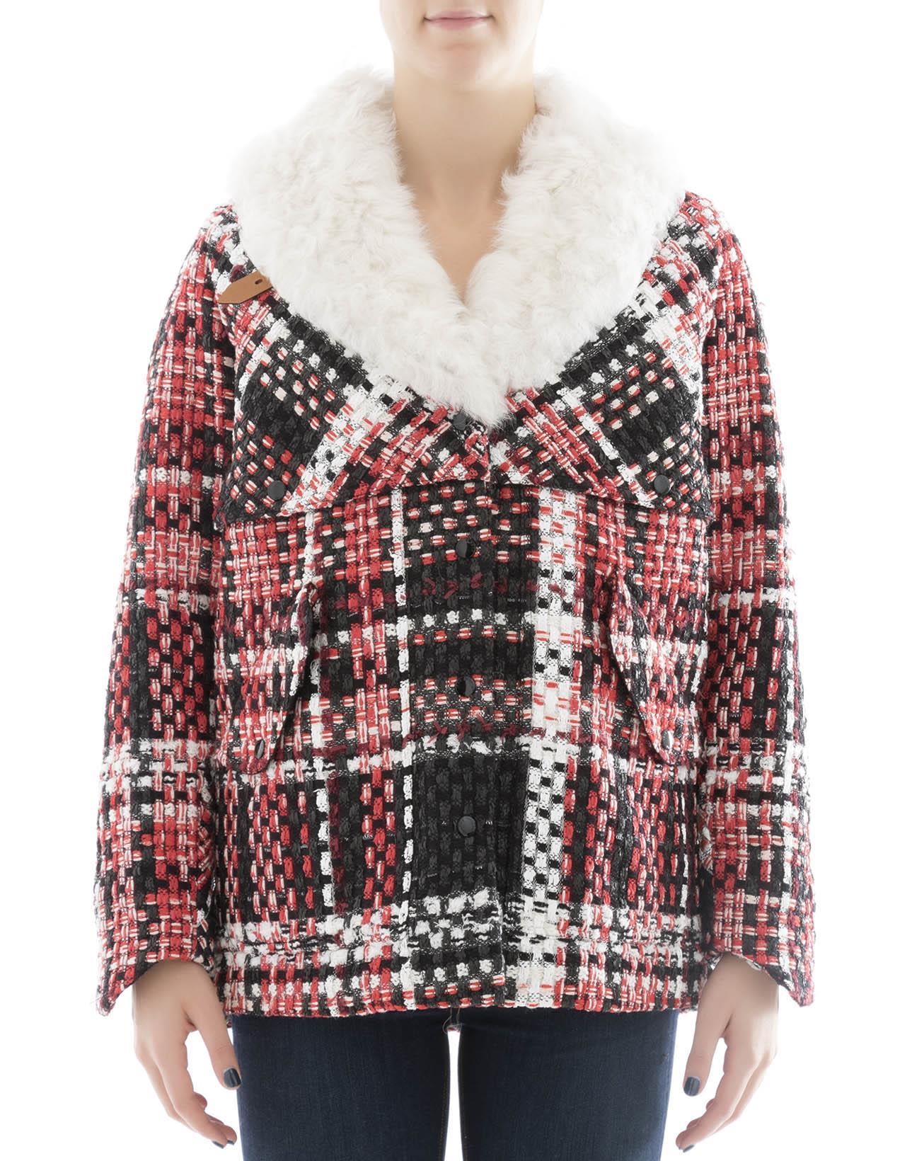 Multicolor Wool Jacket