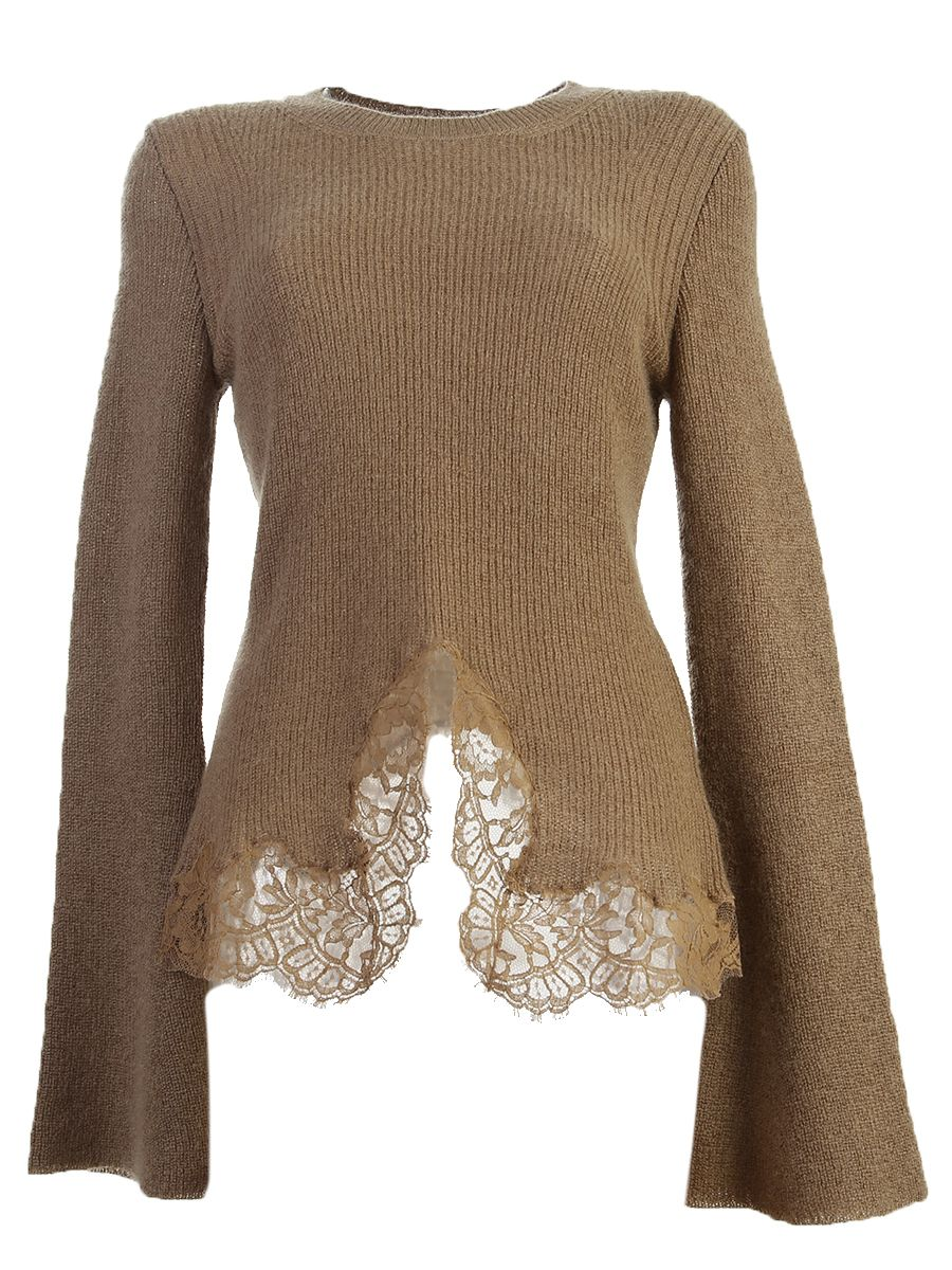Stretch Mohair And Wool Jumper