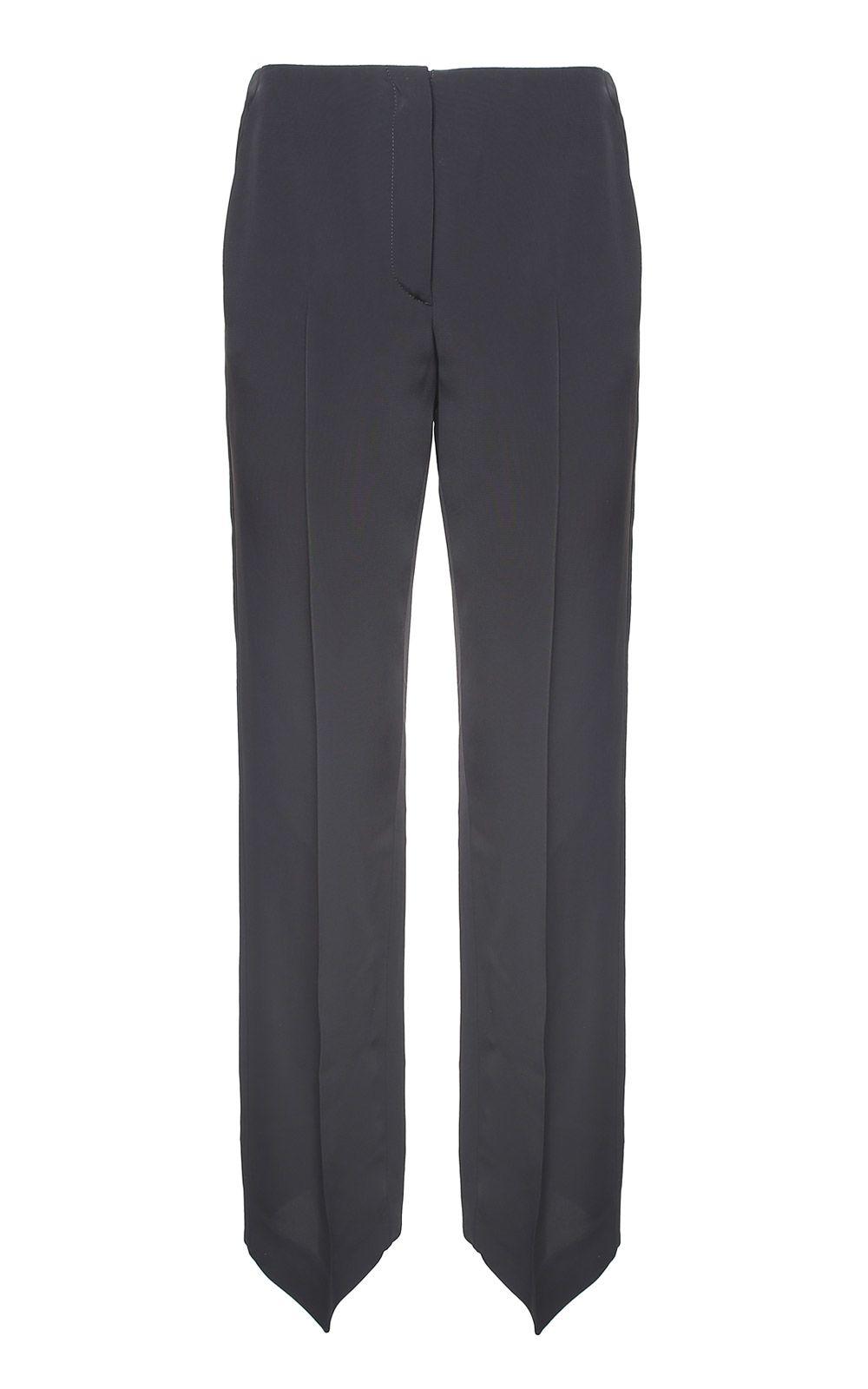 MM6 Maison Margiela Viscose Straight-leg Trousers