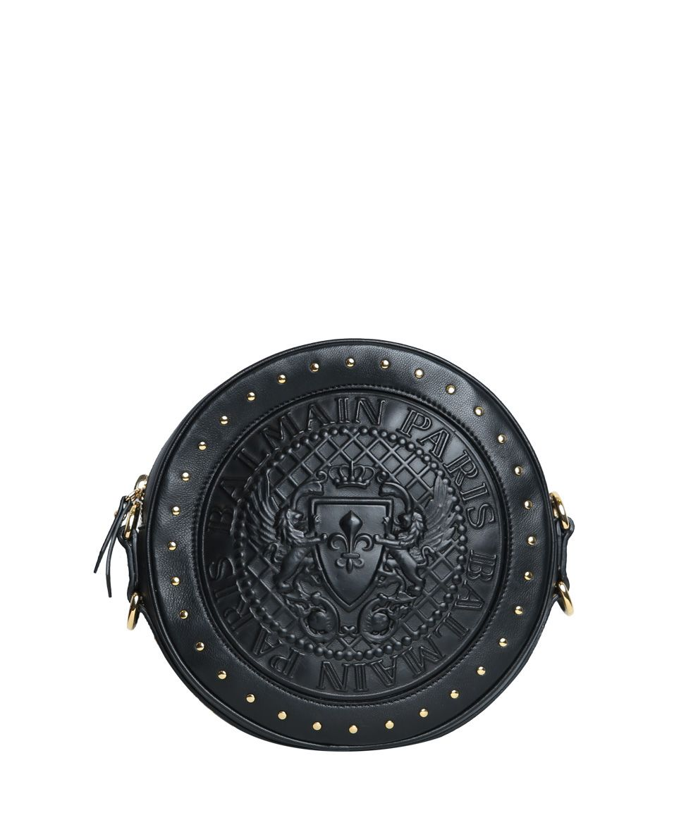 Balmain Studded Leather Bag