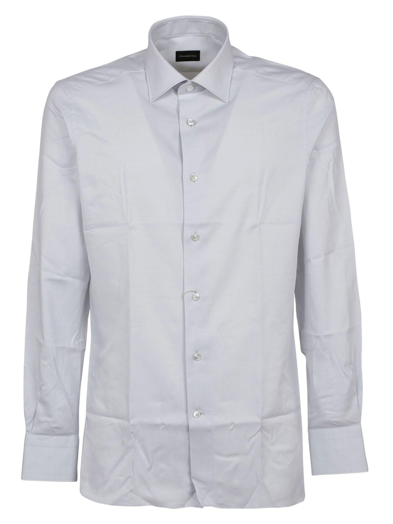 ermenegildo zegna ermenegildo zegna classic shirt white men 39 s shirts italist. Black Bedroom Furniture Sets. Home Design Ideas